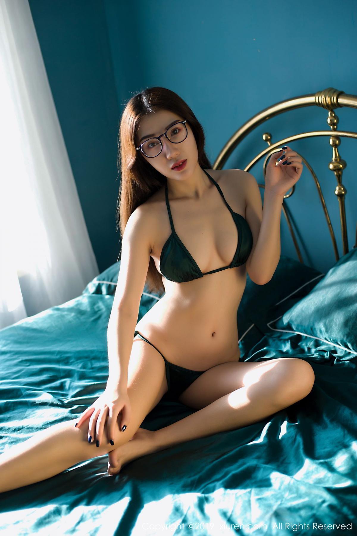 [XiuRen] Vol.1725 Zhi Zhi 2 6P, Underwear, Xiuren, Zhi Zhi