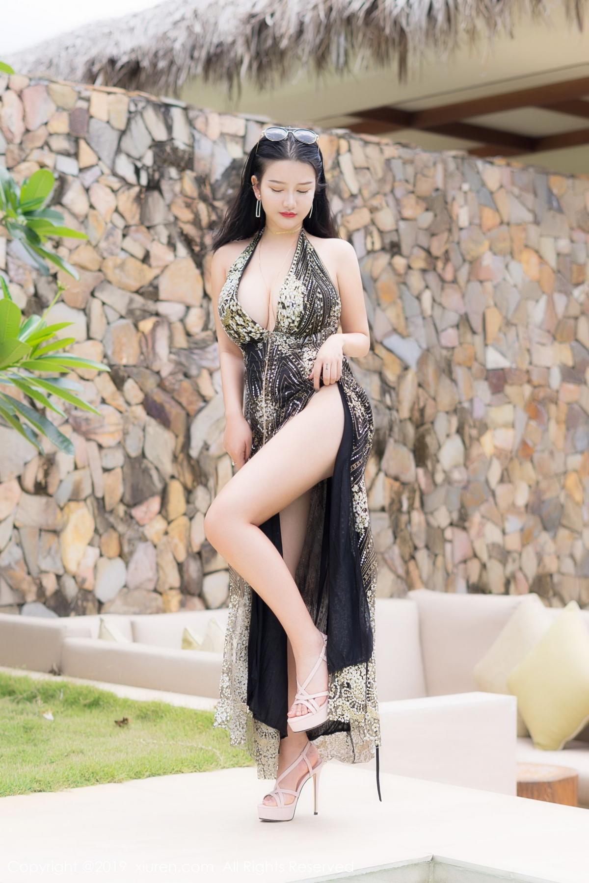 [XiuRen] Vol.1726 Lu Lu Xiao Miao 11P, Lu Lu Xiao Miao, Outdoor, Swim Pool, Xiuren
