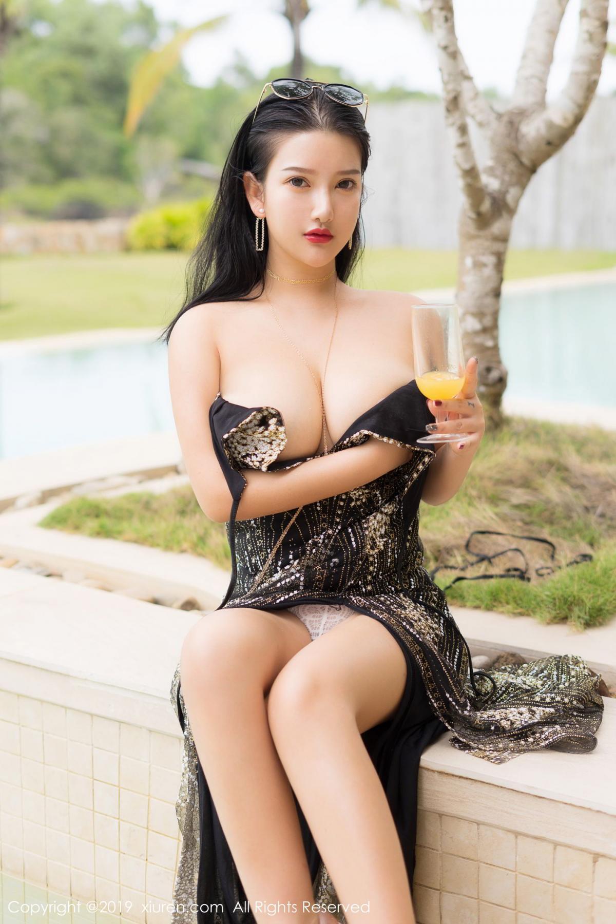 [XiuRen] Vol.1726 Lu Lu Xiao Miao 26P, Lu Lu Xiao Miao, Outdoor, Swim Pool, Xiuren