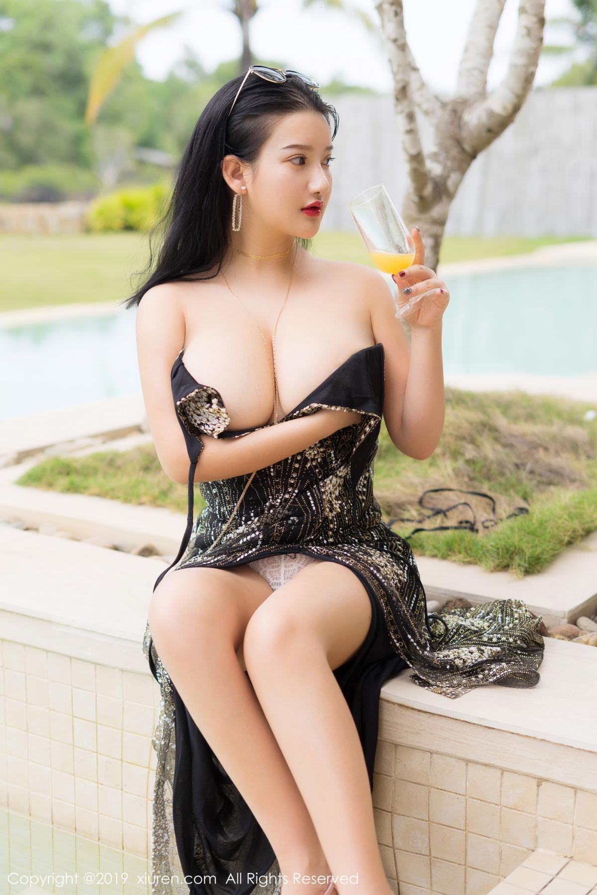 [XiuRen] Vol.1726 Lu Lu Xiao Miao 27P, Lu Lu Xiao Miao, Outdoor, Swim Pool, Xiuren
