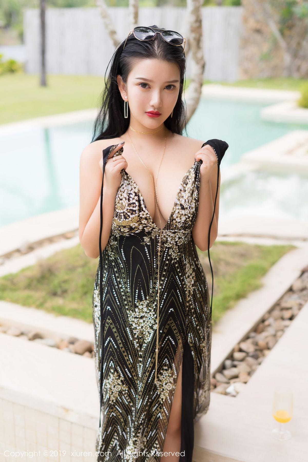 [XiuRen] Vol.1726 Lu Lu Xiao Miao 29P, Lu Lu Xiao Miao, Outdoor, Swim Pool, Xiuren