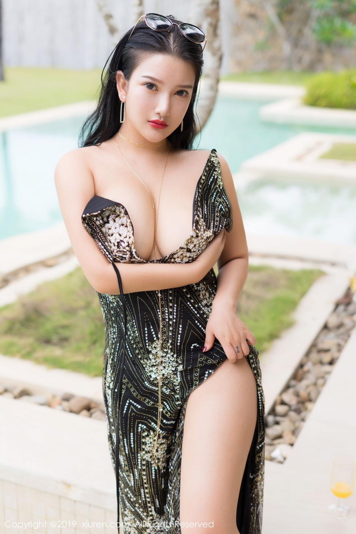 [XiuRen] Vol.1726 Lu Lu Xiao Miao 30P, Lu Lu Xiao Miao, Outdoor, Swim Pool, Xiuren