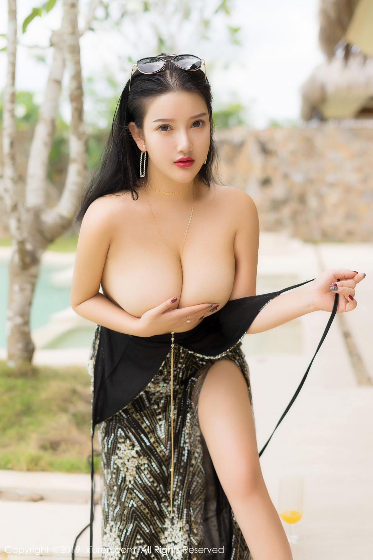 [XiuRen] Vol.1726 Lu Lu Xiao Miao 31P, Lu Lu Xiao Miao, Outdoor, Swim Pool, Xiuren