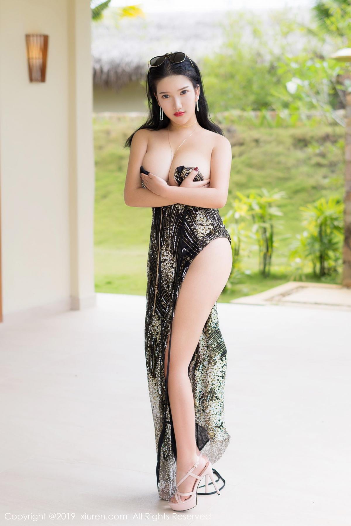 [XiuRen] Vol.1726 Lu Lu Xiao Miao 40P, Lu Lu Xiao Miao, Outdoor, Swim Pool, Xiuren