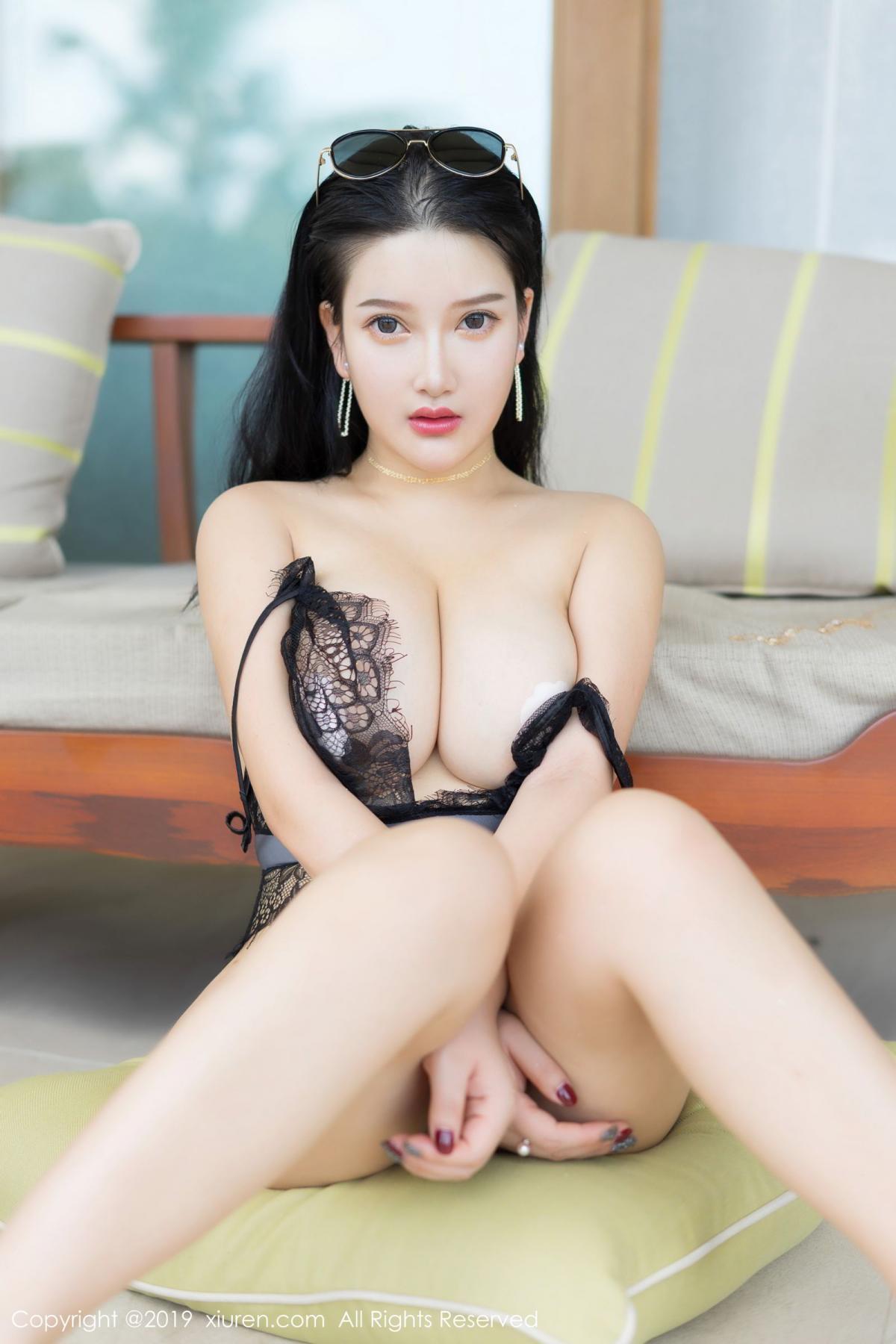 [XiuRen] Vol.1726 Lu Lu Xiao Miao 49P, Lu Lu Xiao Miao, Outdoor, Swim Pool, Xiuren