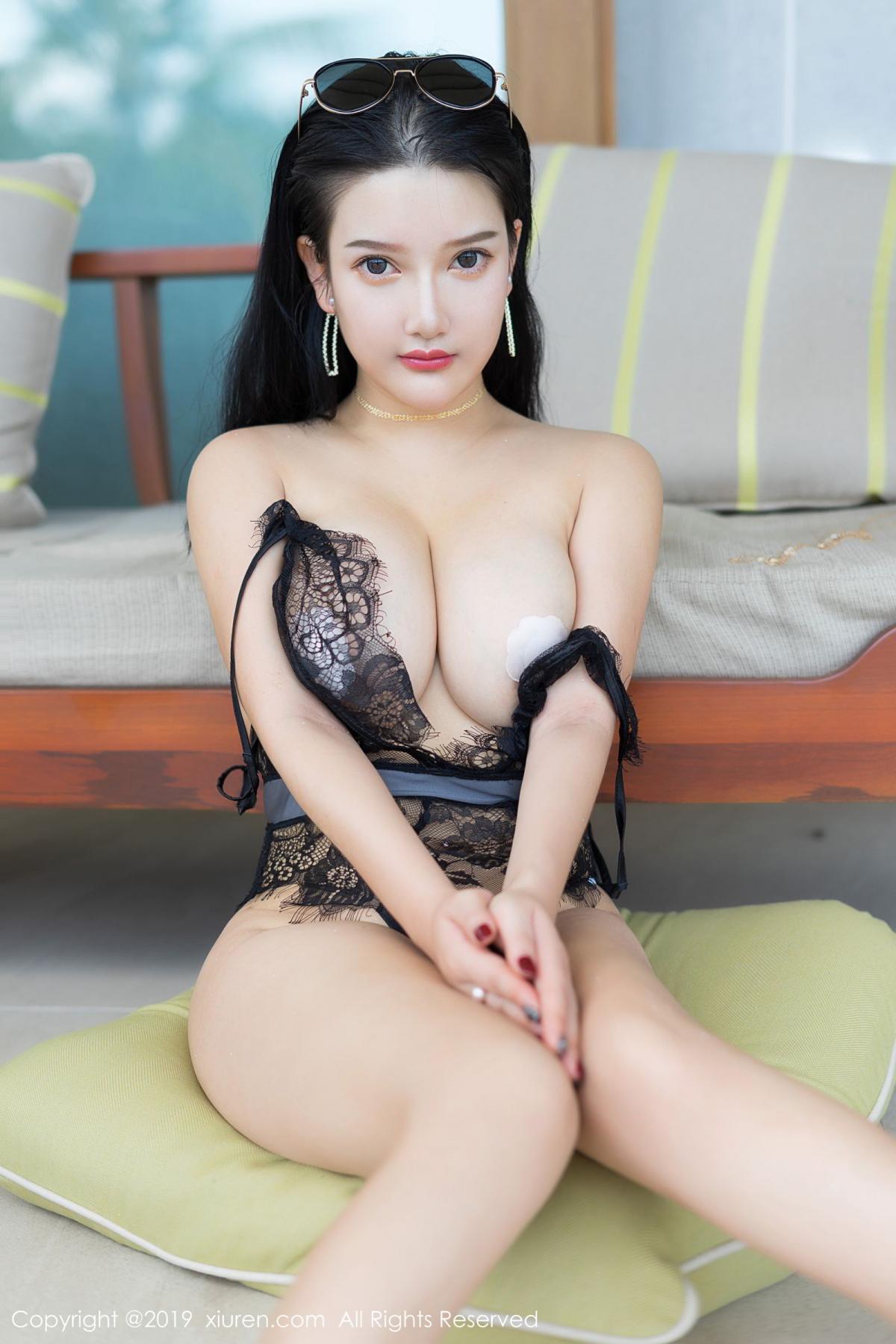 [XiuRen] Vol.1726 Lu Lu Xiao Miao 50P, Lu Lu Xiao Miao, Outdoor, Swim Pool, Xiuren
