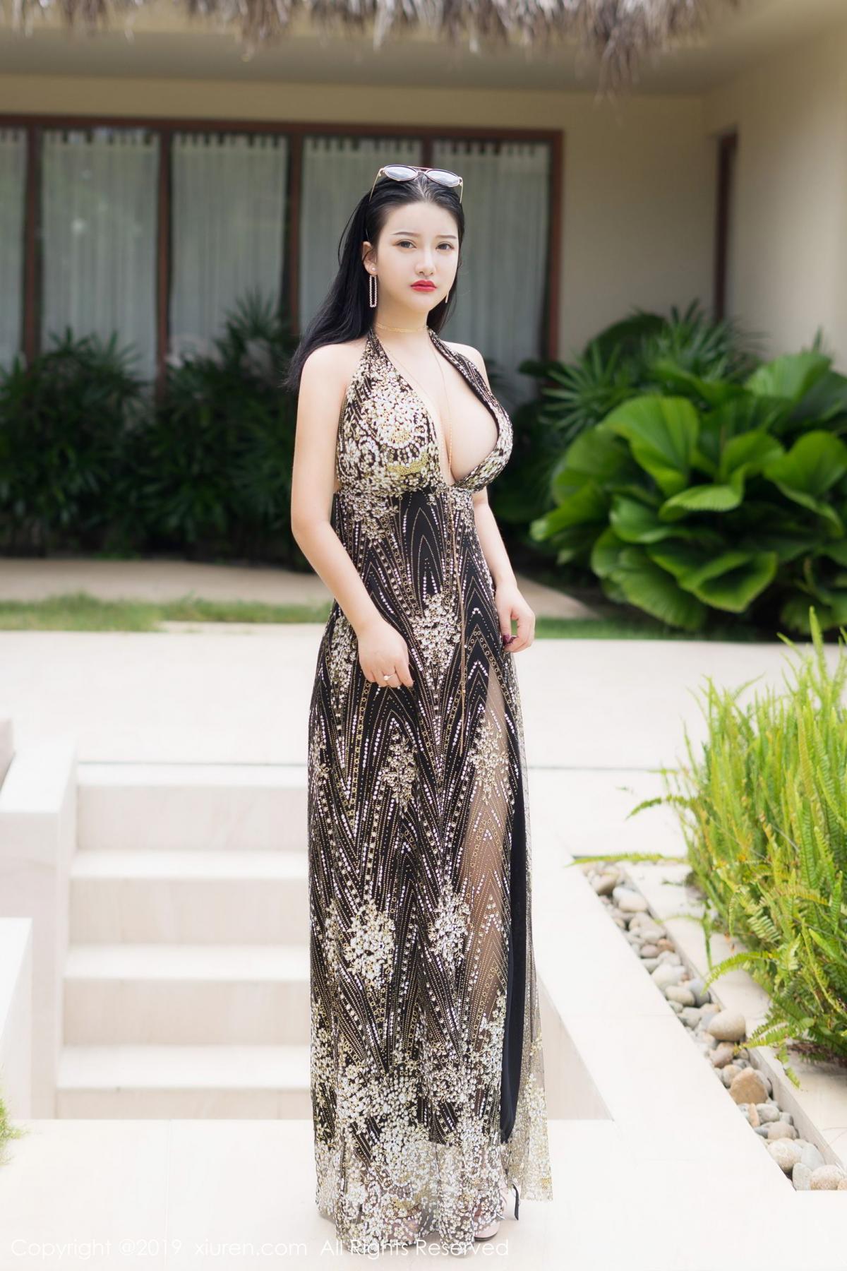 [XiuRen] Vol.1726 Lu Lu Xiao Miao 5P, Lu Lu Xiao Miao, Outdoor, Swim Pool, Xiuren