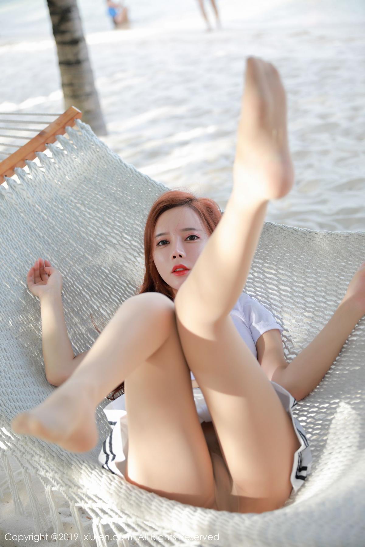 [XiuRen] Vol.1728 Ai Xiao Qing 27P, Ai Xiao Qing, Beach, Xiuren