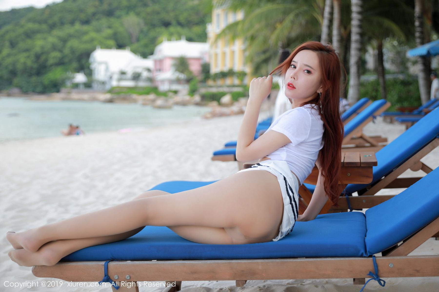 [XiuRen] Vol.1728 Ai Xiao Qing 29P, Ai Xiao Qing, Beach, Xiuren