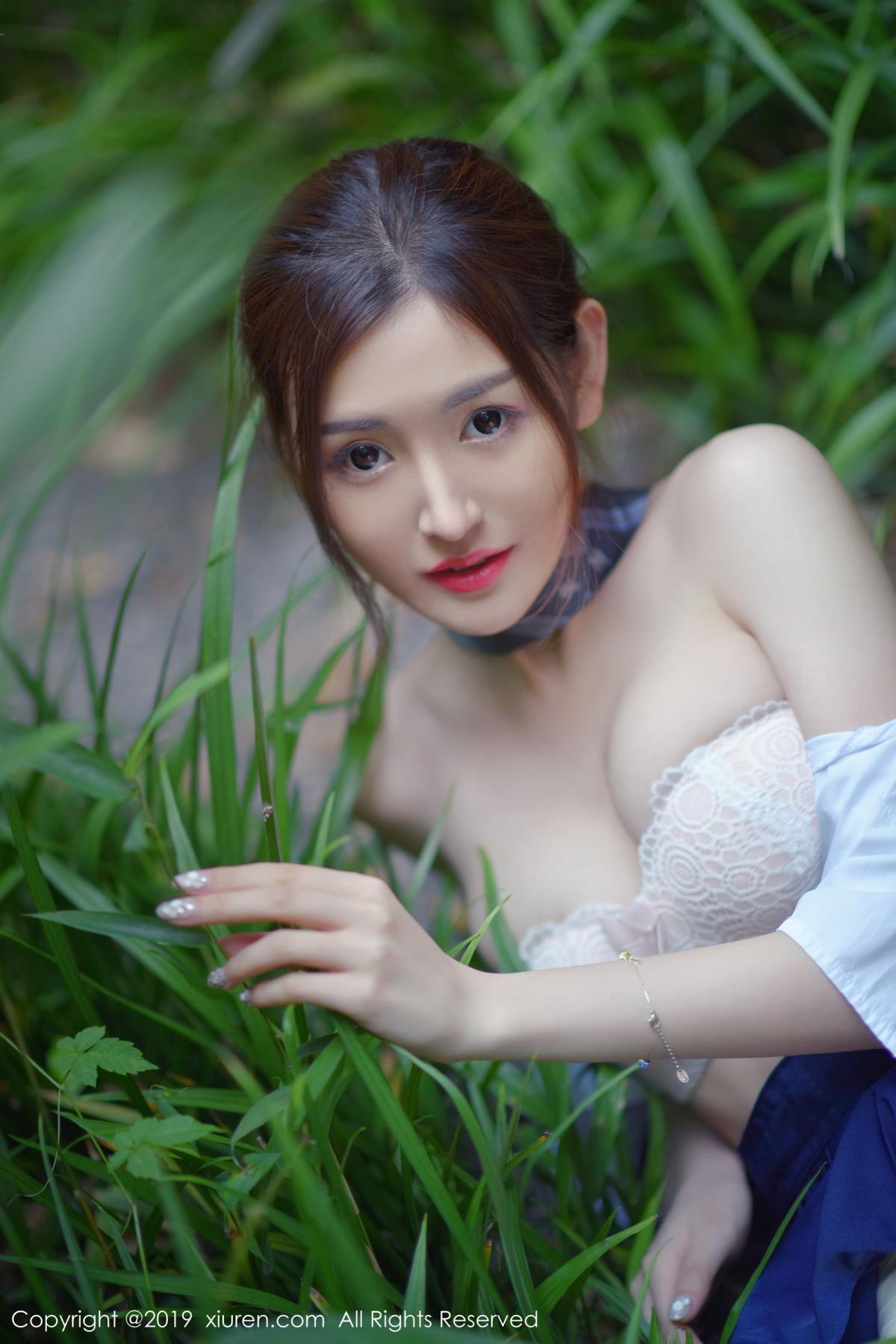 [XiuRen] Vol.1733 Shen Meng Yao 29P, Outdoor, Shen Meng Yao, Underwear, Xiuren