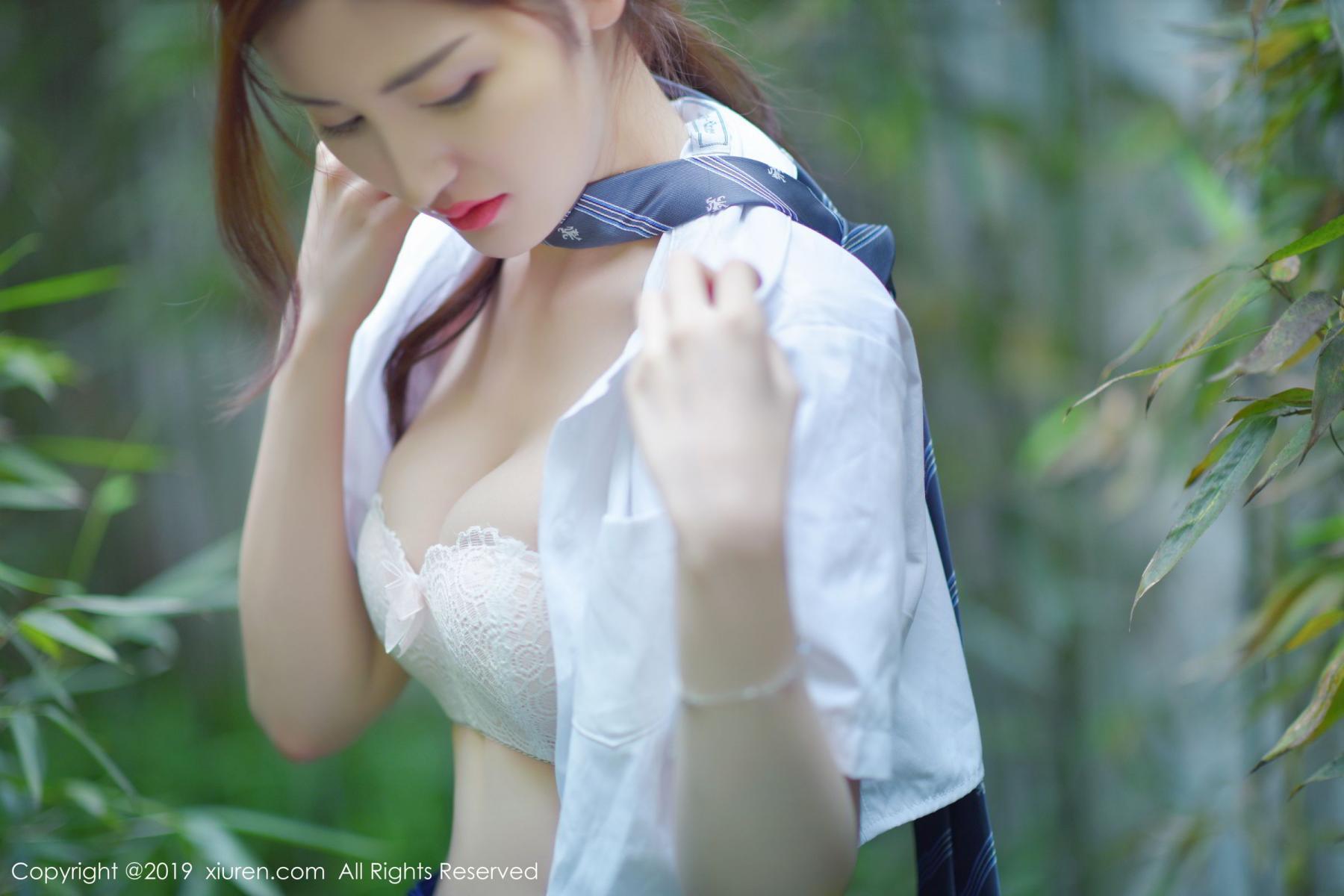 [XiuRen] Vol.1733 Shen Meng Yao 47P, Outdoor, Shen Meng Yao, Underwear, Xiuren