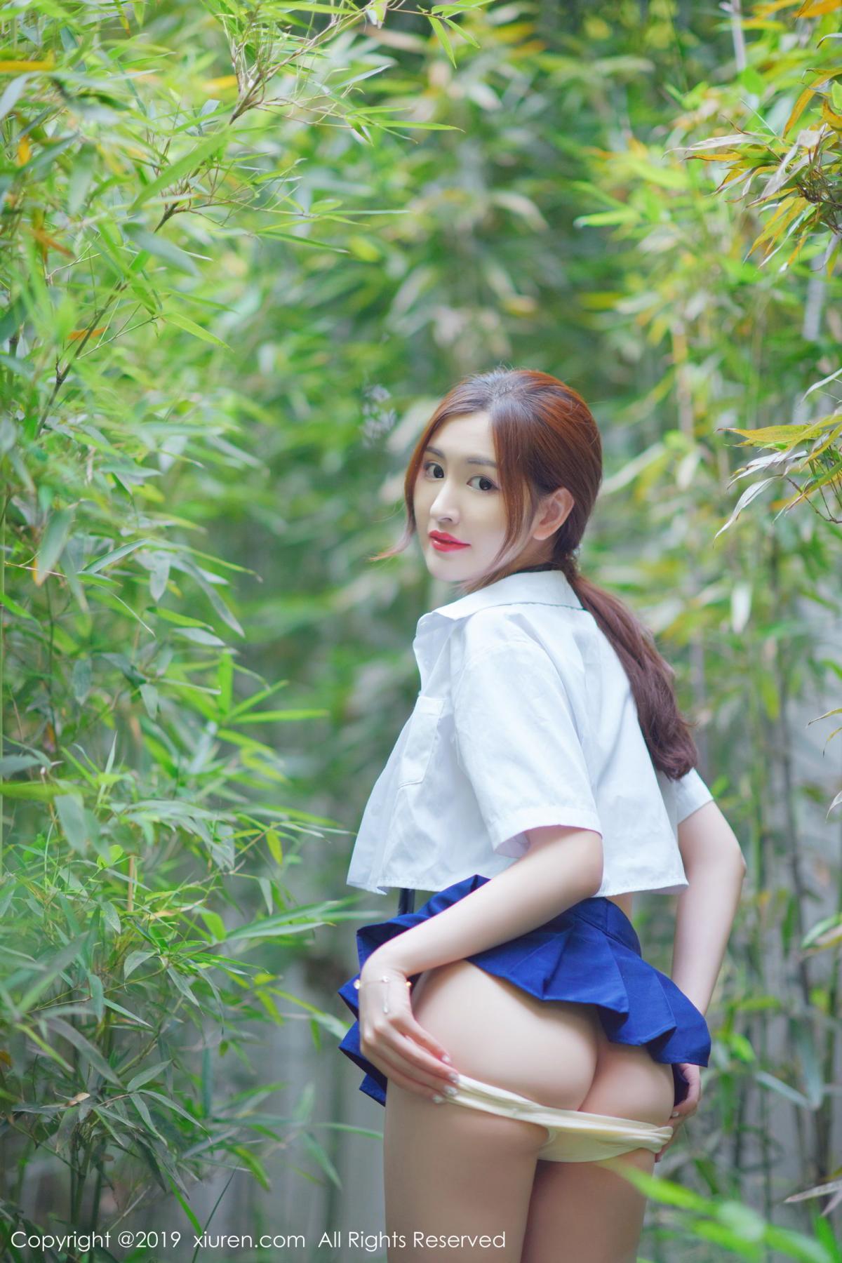 [XiuRen] Vol.1733 Shen Meng Yao 53P, Outdoor, Shen Meng Yao, Underwear, Xiuren