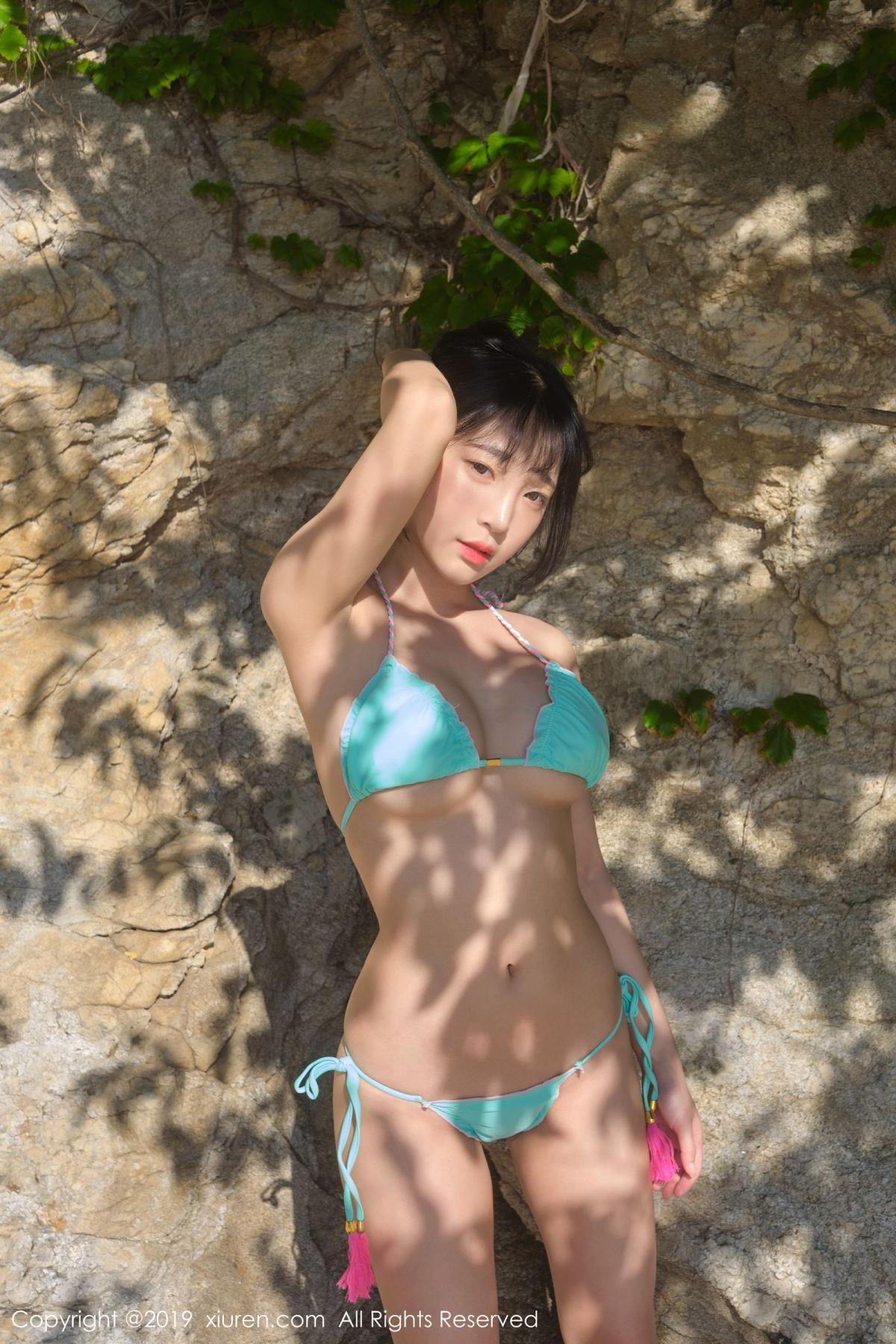 [XiuRen] Vol.1734 Model Qing Qing 35P, Bikini, Kang In Kyung, Xiuren