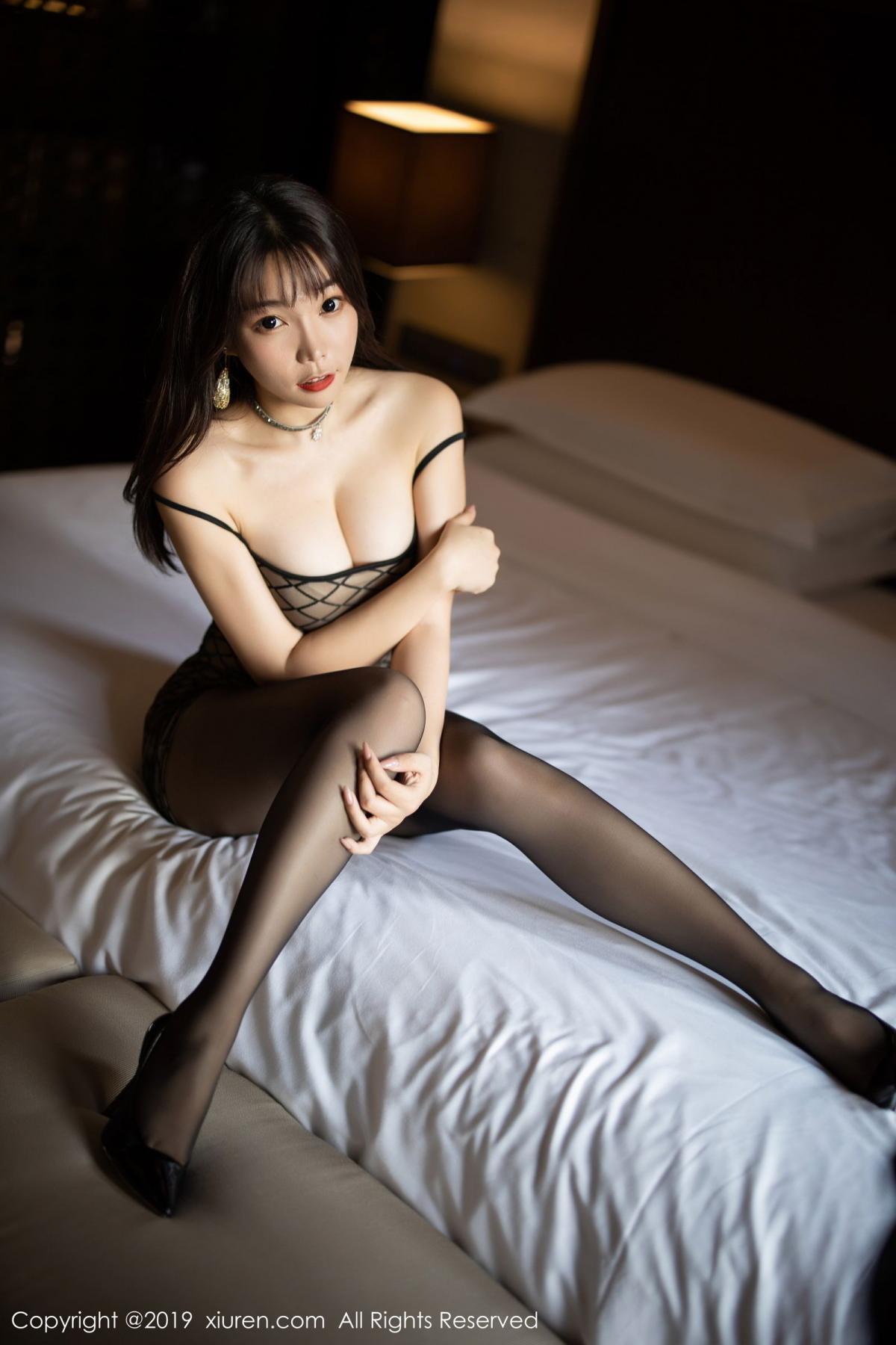 [XiuRen] Vol.1736 Chen Zhi 33P, Black Silk, Chen Zhi, Tall, Xiuren