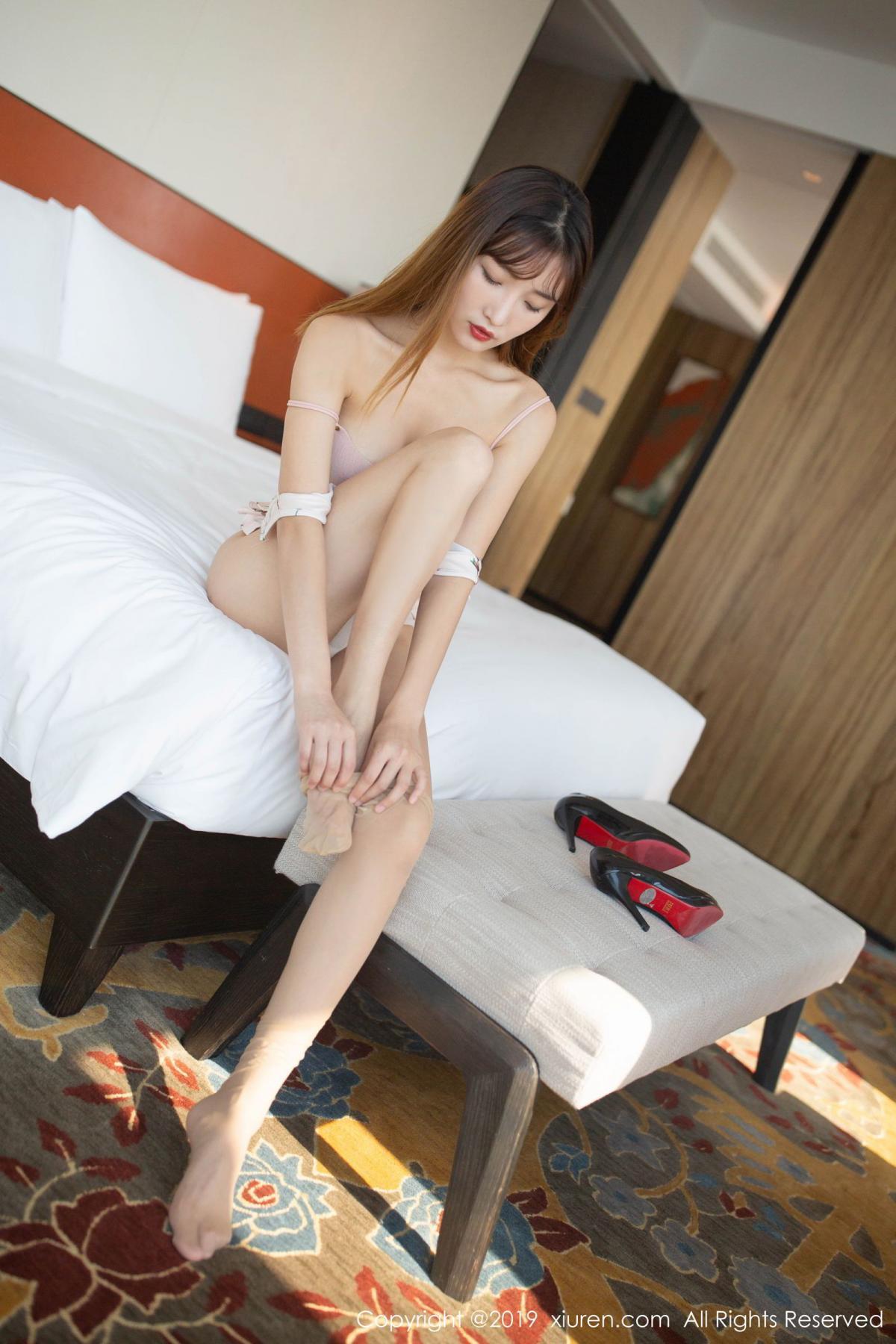 [XiuRen] Vol.1737 Lu Xuan Xuan 2 58P, Cheongsam, Lu Xuan Xuan, Underwear, Xiuren