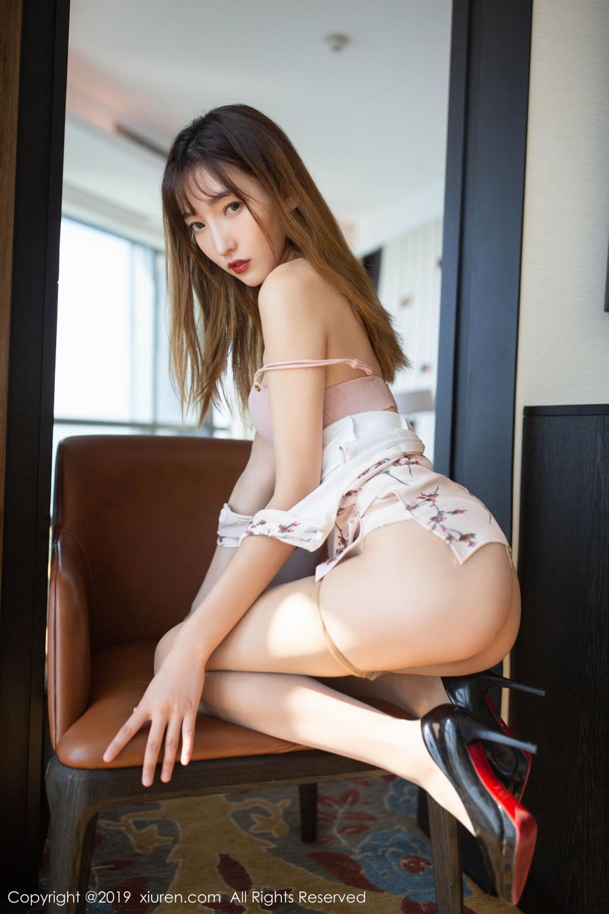 [XiuRen] Vol.1737 Lu Xuan Xuan 2 6P, Cheongsam, Lu Xuan Xuan, Underwear, Xiuren