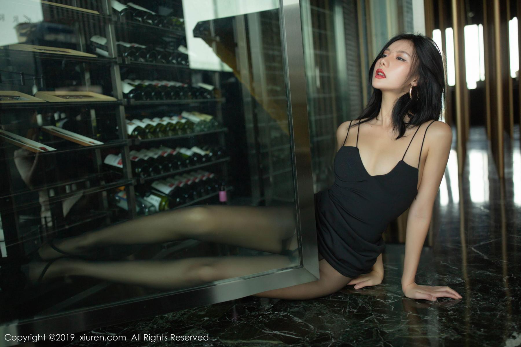 [XiuRen] Vol.1739 Jiu Shi A Zhu 22P, Black Silk, Cool, Jiu Shi A Zhu, Xiuren