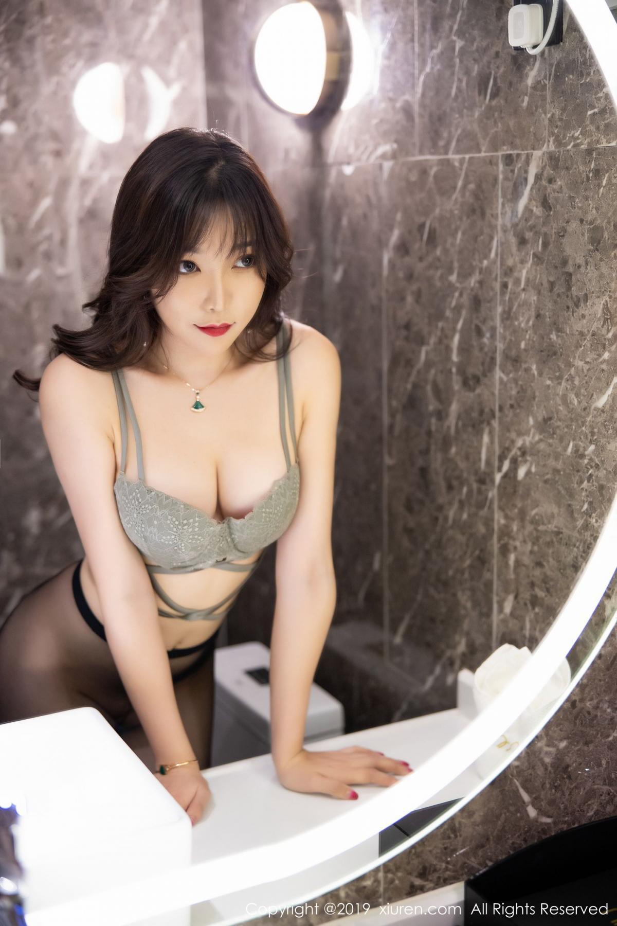 [XiuRen] Vol.1764 Chen Zhi 37P, Big Booty, Black Silk, Chen Zhi, Xiuren