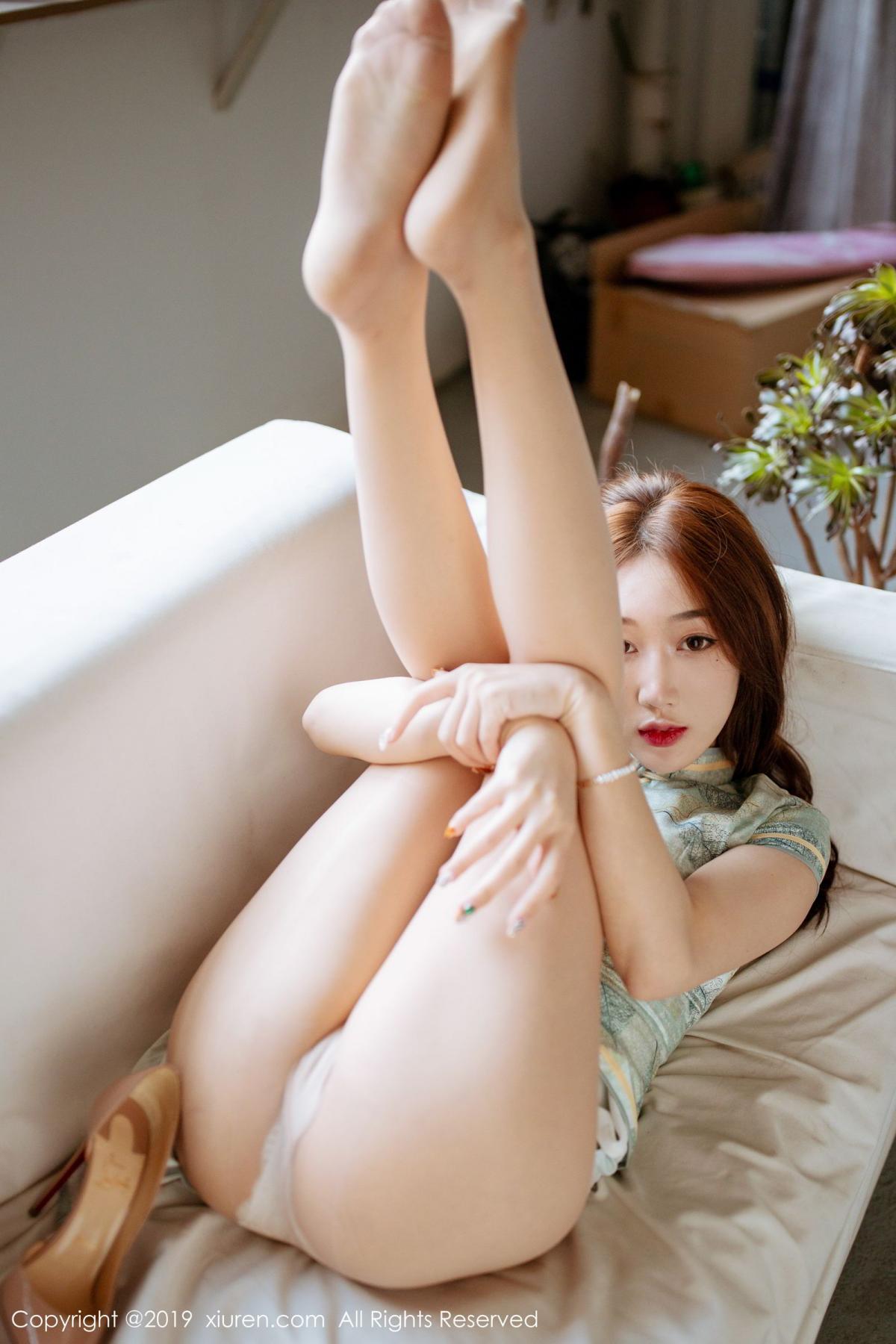 [XiuRen] Vol.1777 Xiao Jiu Yue 39P, Cheongsam, Xiao Jiu Yue, Xiuren