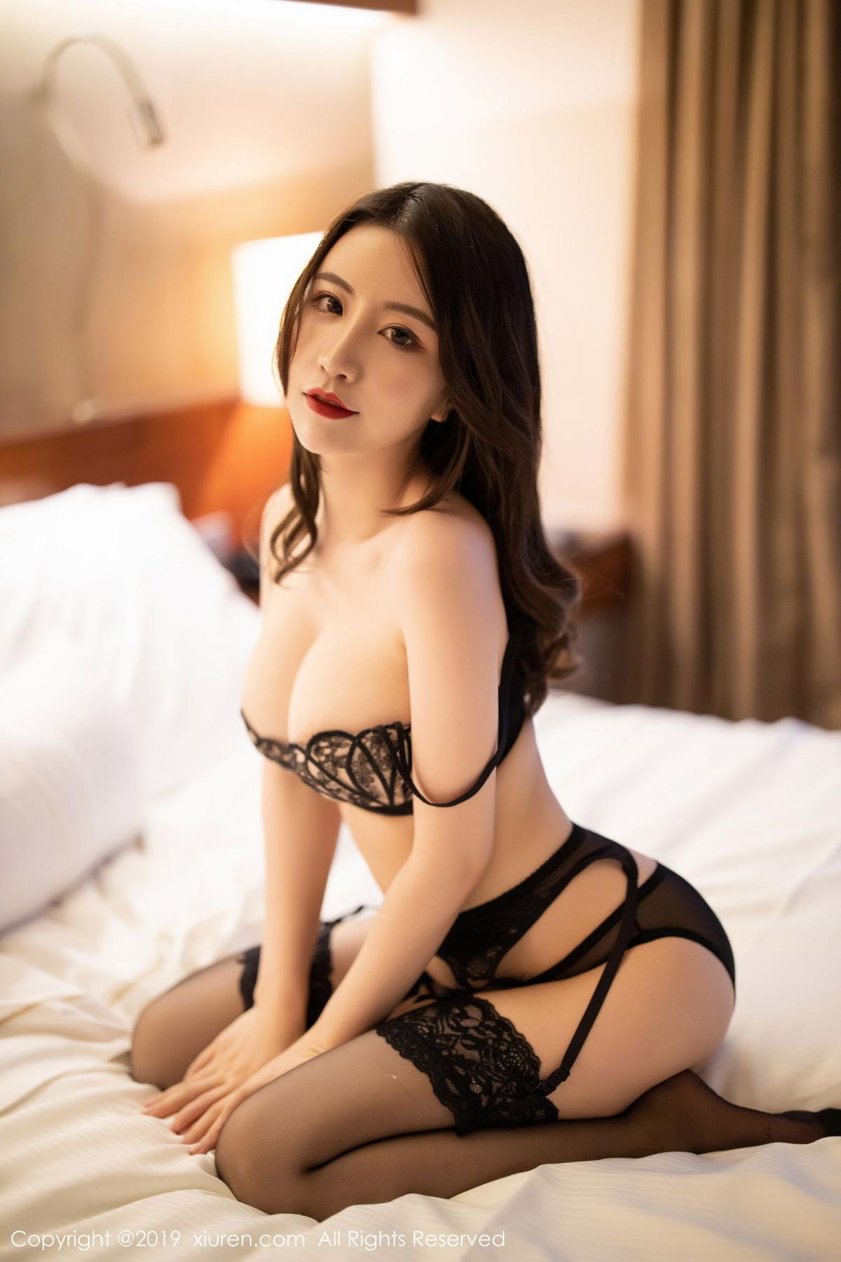 [XiuRen] Vol.1779 Xie Zhi Xin 51P, Black Silk, Tall, Xie Zhi Xin, Xiuren