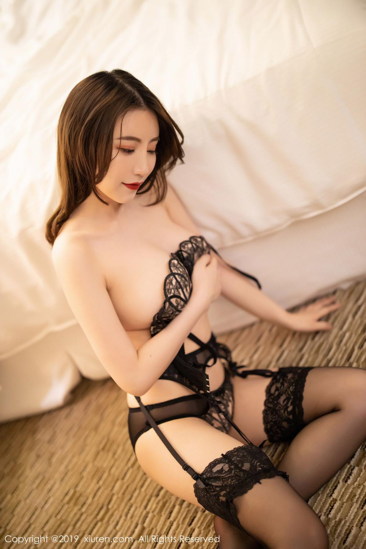 [XiuRen] Vol.1779 Xie Zhi Xin 65P, Black Silk, Tall, Xie Zhi Xin, Xiuren