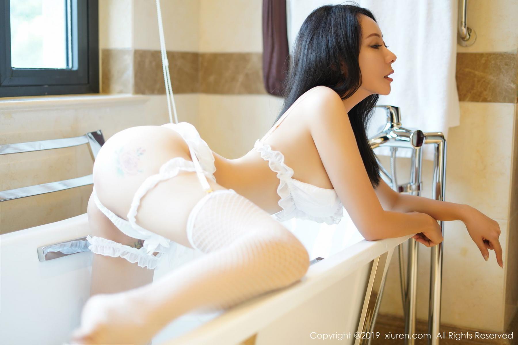 [XiuRen] Vol.1786 Song Guo Er 15P, Bathroom, Mature, Song Guo Er, Underwear, Xiuren