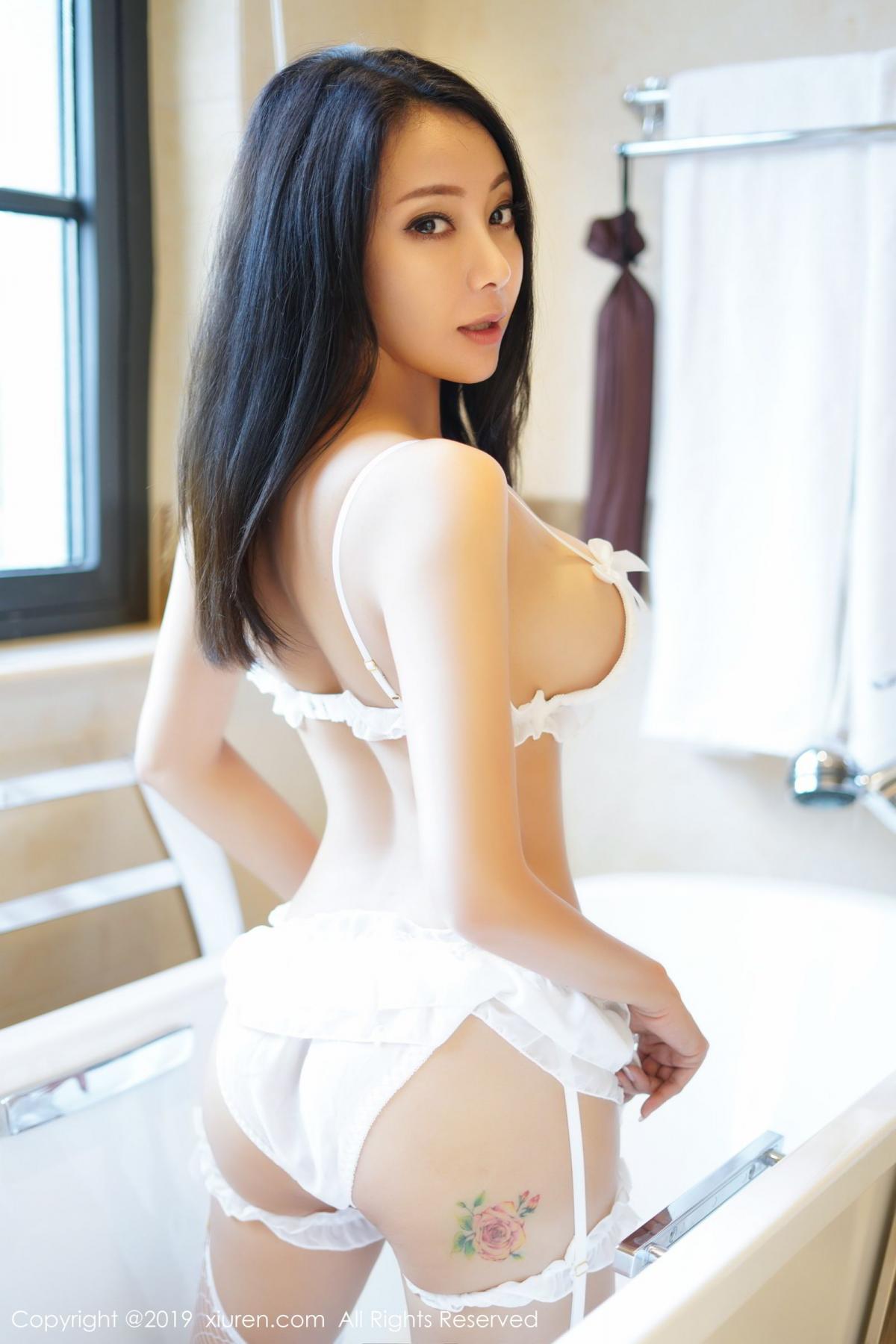 [XiuRen] Vol.1786 Song Guo Er 16P, Bathroom, Mature, Song Guo Er, Underwear, Xiuren