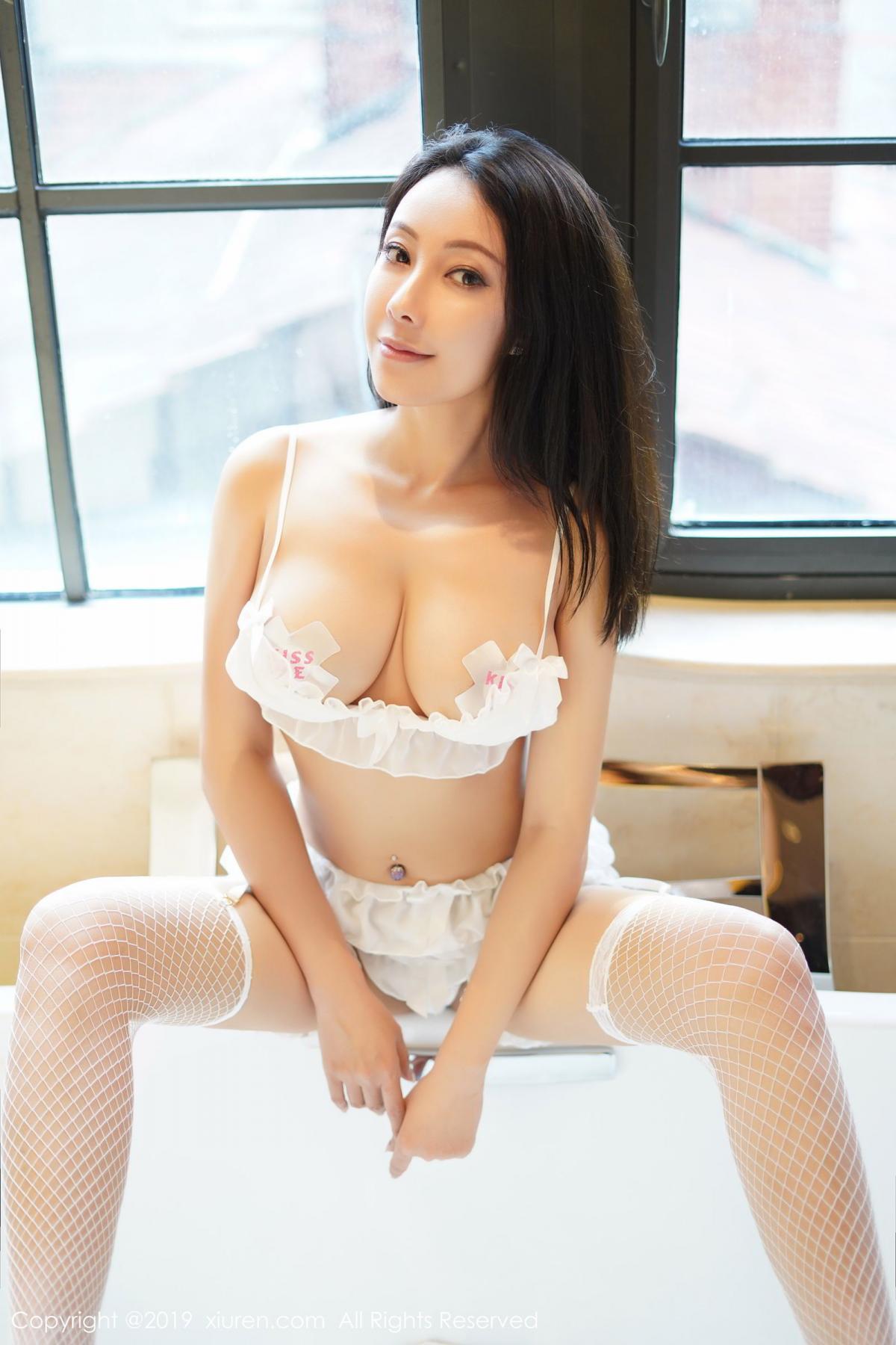 [XiuRen] Vol.1786 Song Guo Er 19P, Bathroom, Mature, Song Guo Er, Underwear, Xiuren