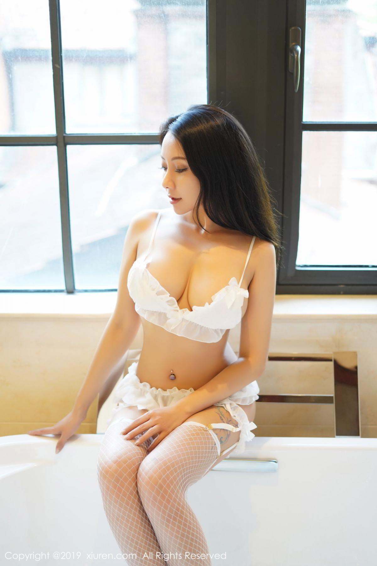 [XiuRen] Vol.1786 Song Guo Er 1P, Bathroom, Mature, Song Guo Er, Underwear, Xiuren
