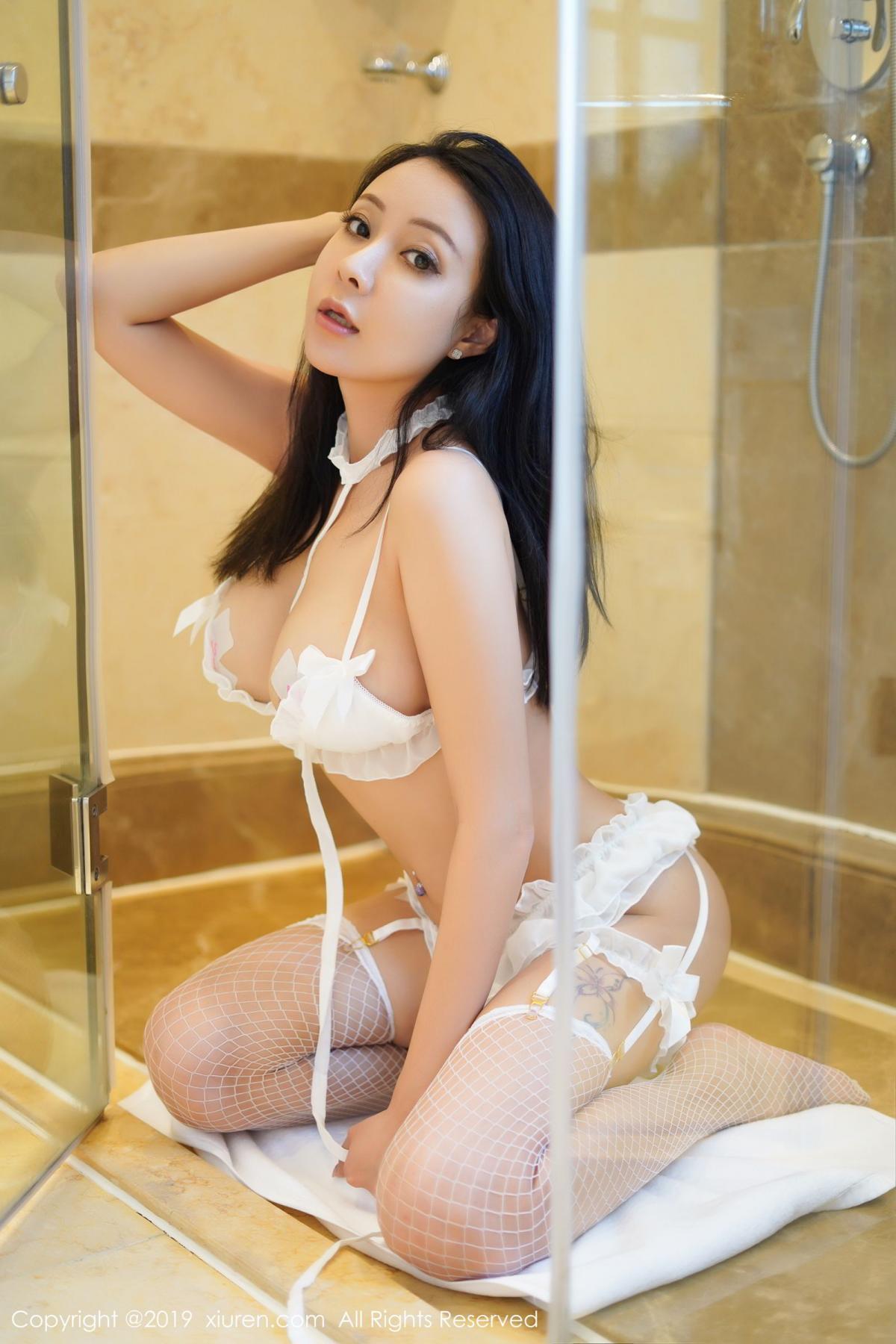 [XiuRen] Vol.1786 Song Guo Er 34P, Bathroom, Mature, Song Guo Er, Underwear, Xiuren