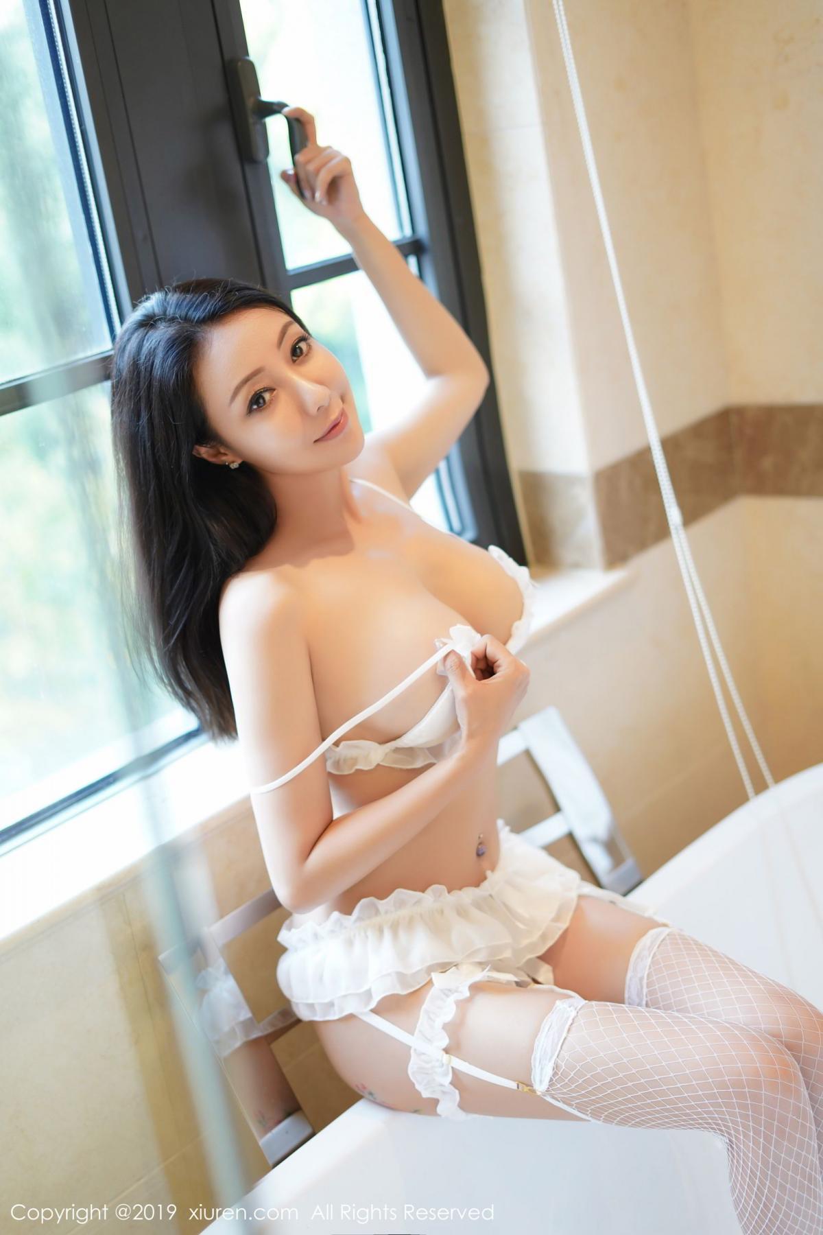 [XiuRen] Vol.1786 Song Guo Er 9P, Bathroom, Mature, Song Guo Er, Underwear, Xiuren