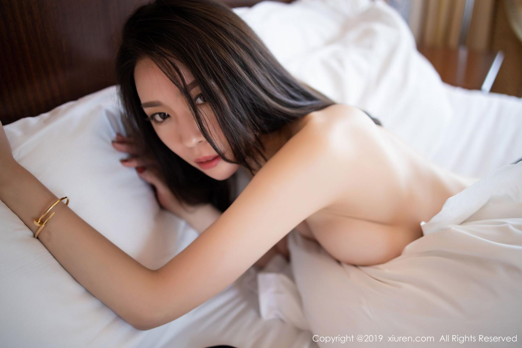 [XiuRen] Vol.1787 Meng Xin Yue 57P, Black Silk, Meng Xin Yue, Underwear, Xiuren
