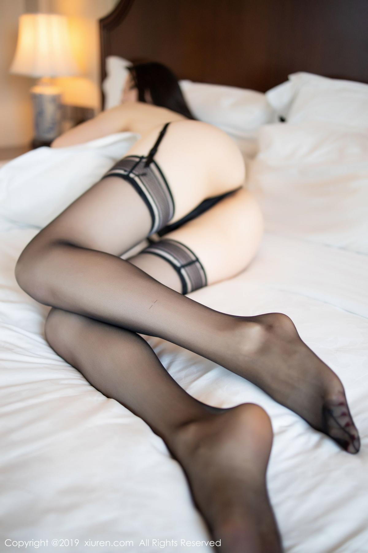 [XiuRen] Vol.1787 Meng Xin Yue 64P, Black Silk, Meng Xin Yue, Underwear, Xiuren