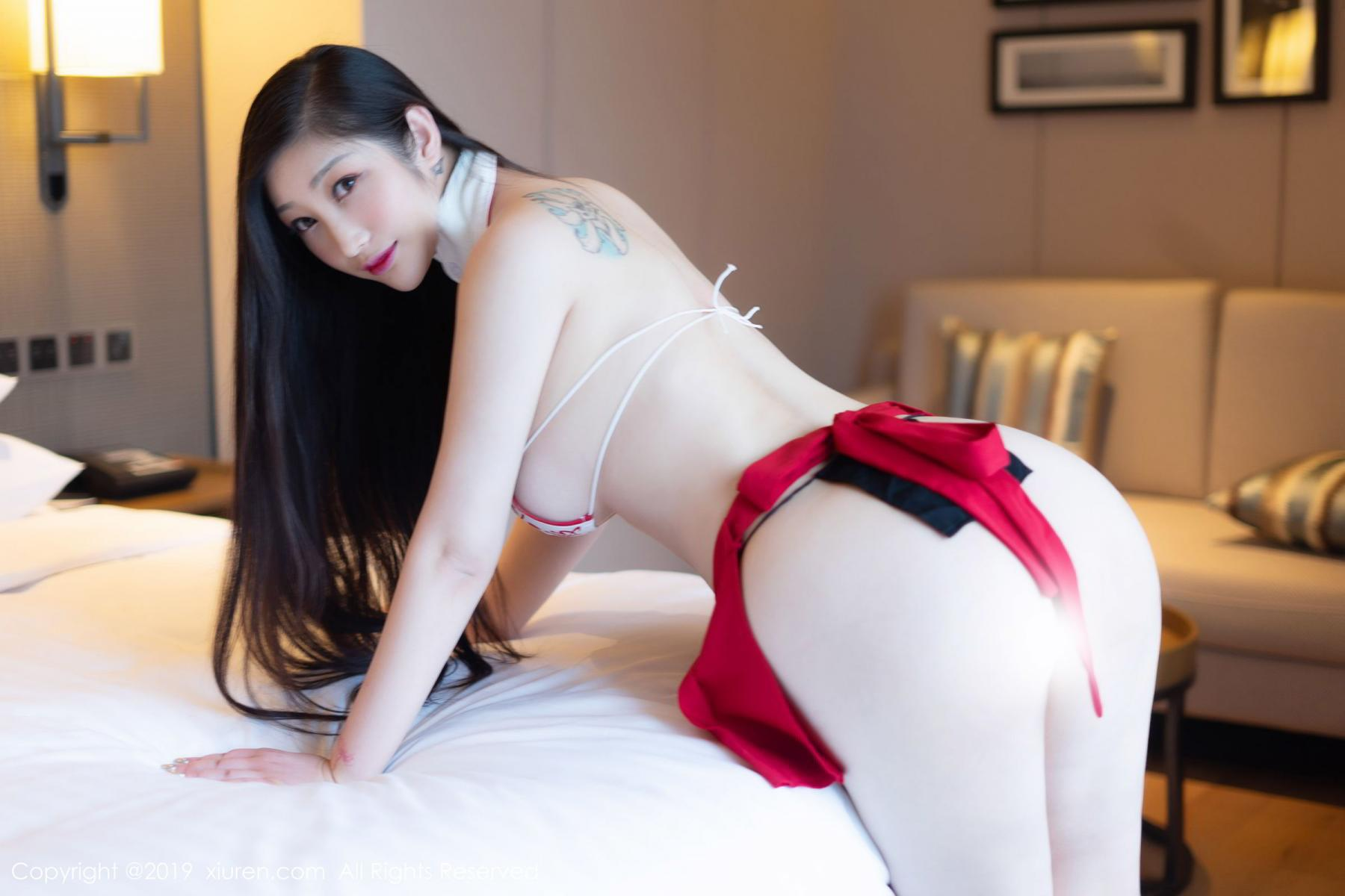 [XiuRen] Vol.1793 Da Ji Toxic 10P, Black Silk, Da Ji Toxic, Underwear, Xiuren