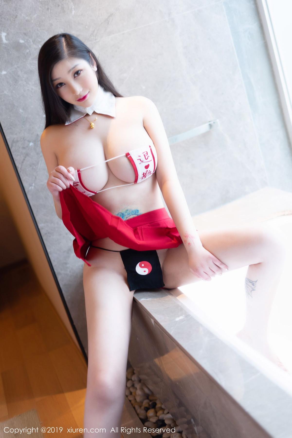 [XiuRen] Vol.1793 Da Ji Toxic 19P, Black Silk, Da Ji Toxic, Underwear, Xiuren