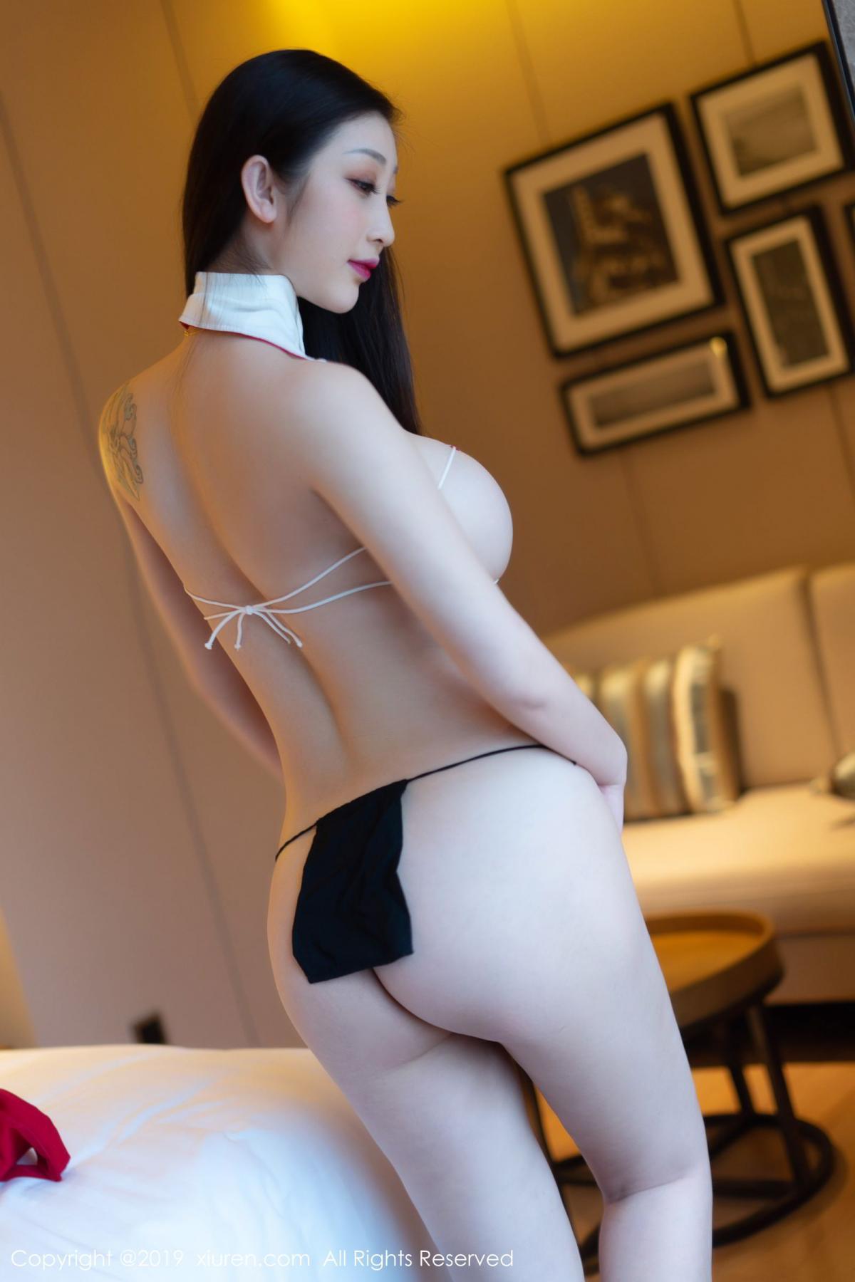 [XiuRen] Vol.1793 Da Ji Toxic 25P, Black Silk, Da Ji Toxic, Underwear, Xiuren