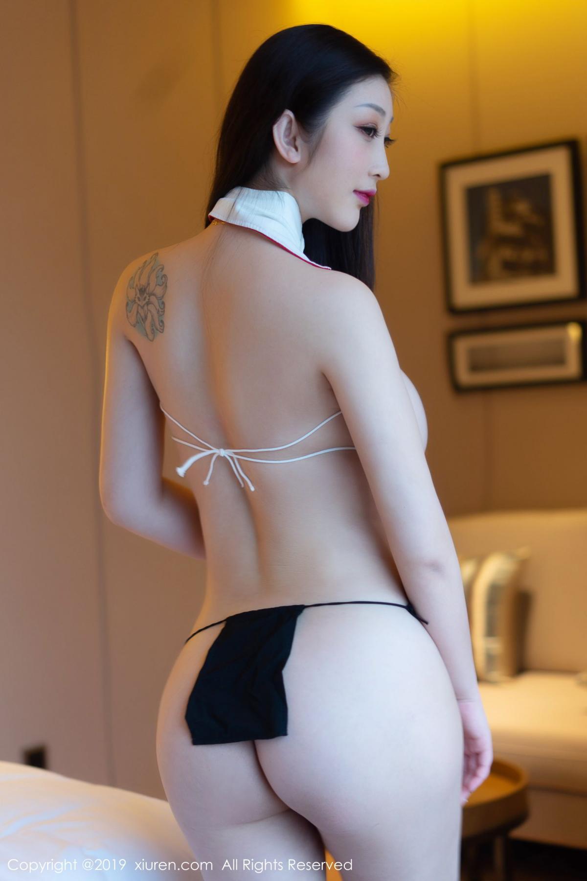 [XiuRen] Vol.1793 Da Ji Toxic 26P, Black Silk, Da Ji Toxic, Underwear, Xiuren