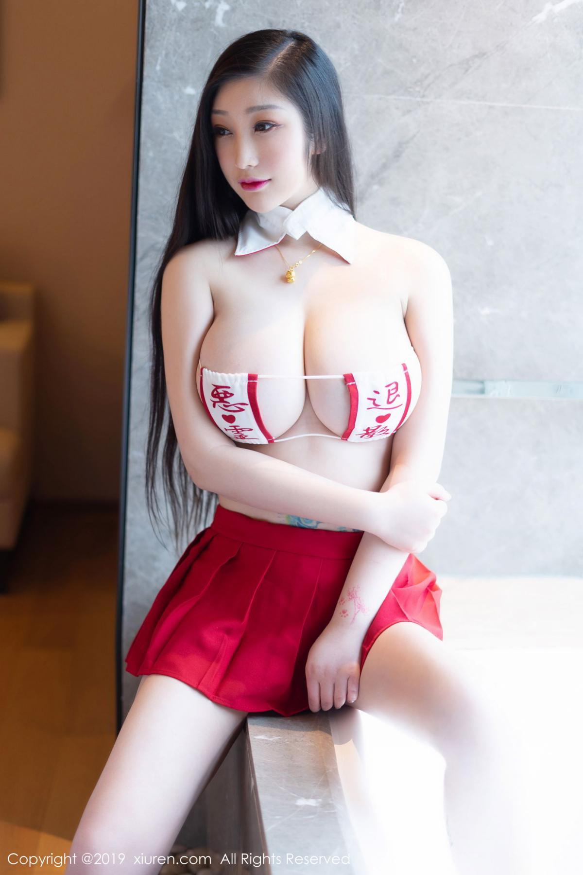 [XiuRen] Vol.1793 Da Ji Toxic 3P, Black Silk, Da Ji Toxic, Underwear, Xiuren