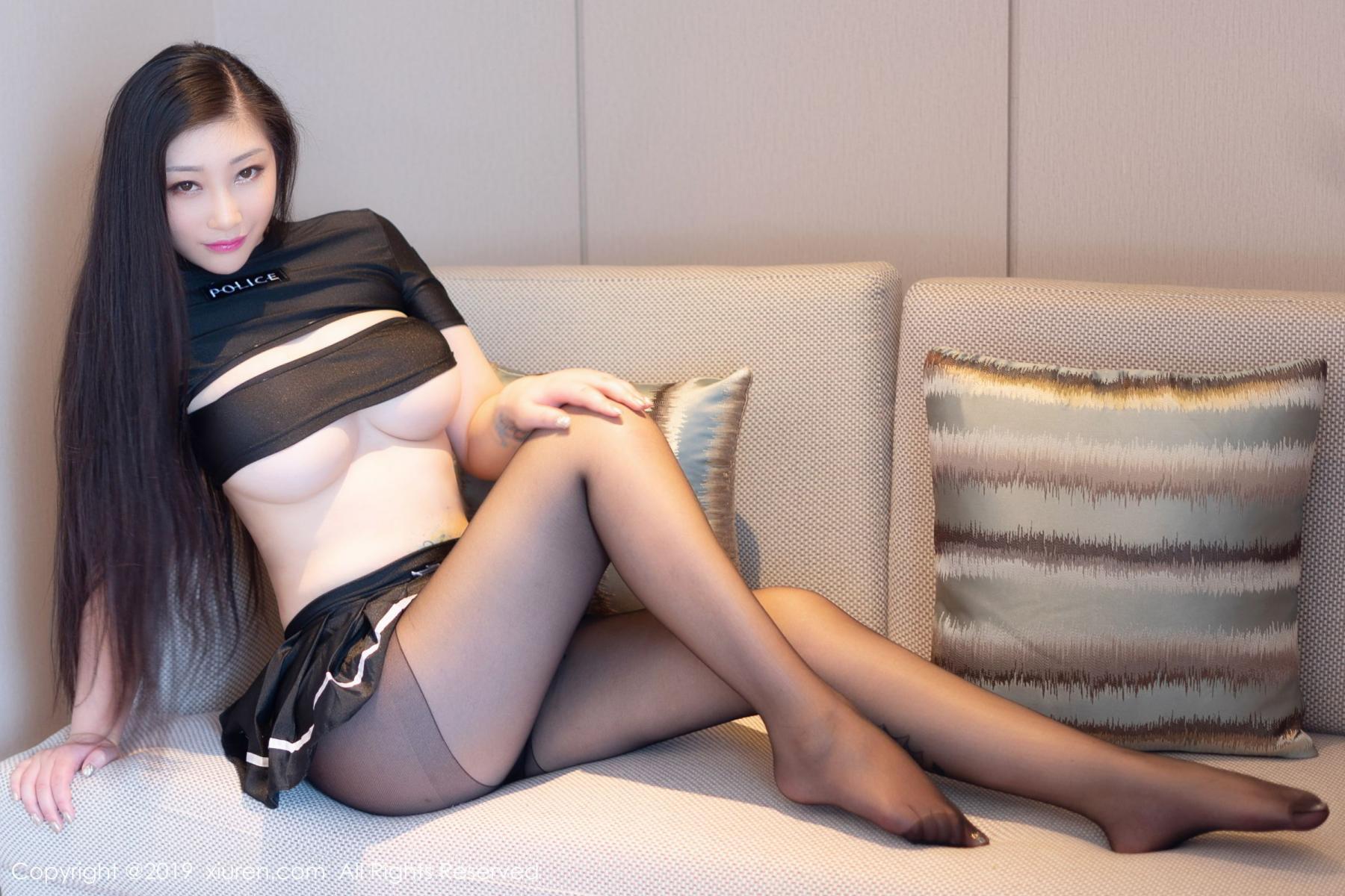 [XiuRen] Vol.1793 Da Ji Toxic 42P, Black Silk, Da Ji Toxic, Underwear, Xiuren