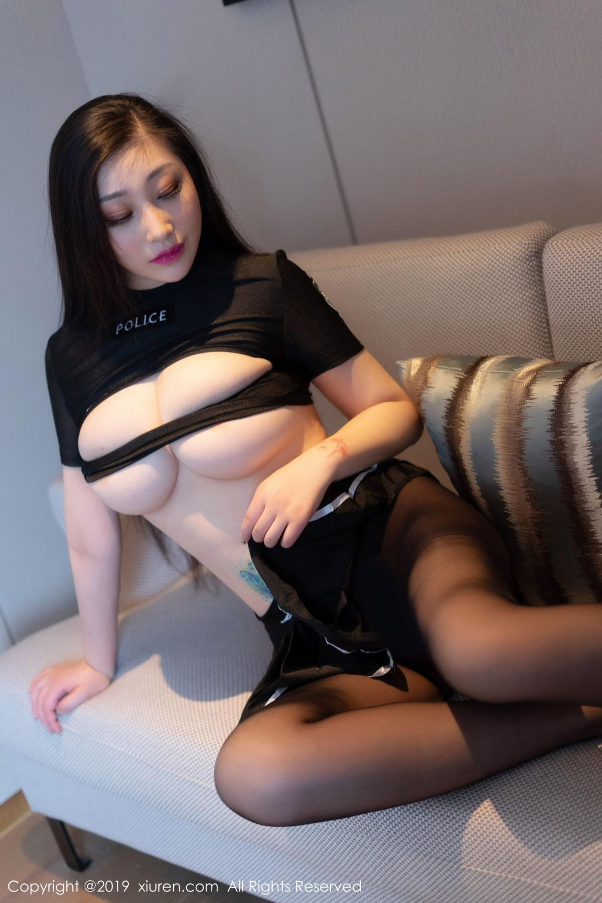 [XiuRen] Vol.1793 Da Ji Toxic 51P, Black Silk, Da Ji Toxic, Underwear, Xiuren
