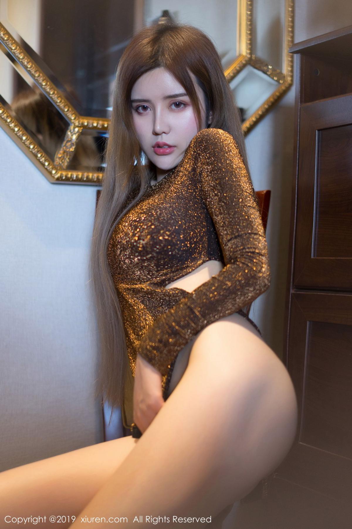 [XiuRen] Vol.1794 Zhuo Ya Qi 45P, Cheongsam, Underwear, Xiuren, Zhuo Ya Qi