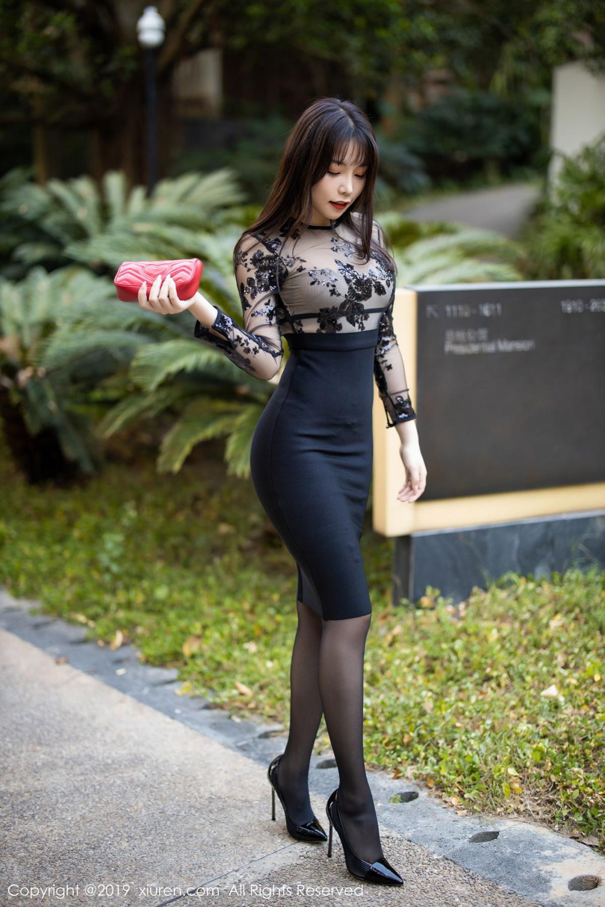 [XiuRen] Vol.1795 Chen Zhi 3P, Big Booty, Black Silk, Chen Zhi, Underwear, Xiuren