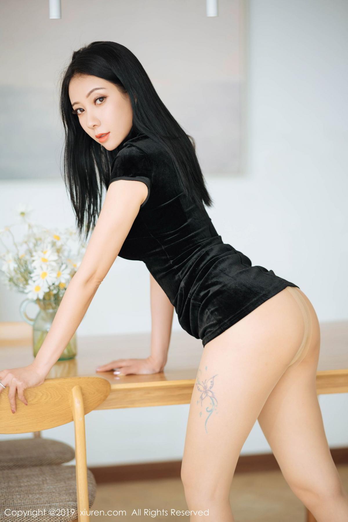 [XiuRen] Vol.1813 Song Guo Er 14P, Cheongsam, Song Guo Er, Xiuren