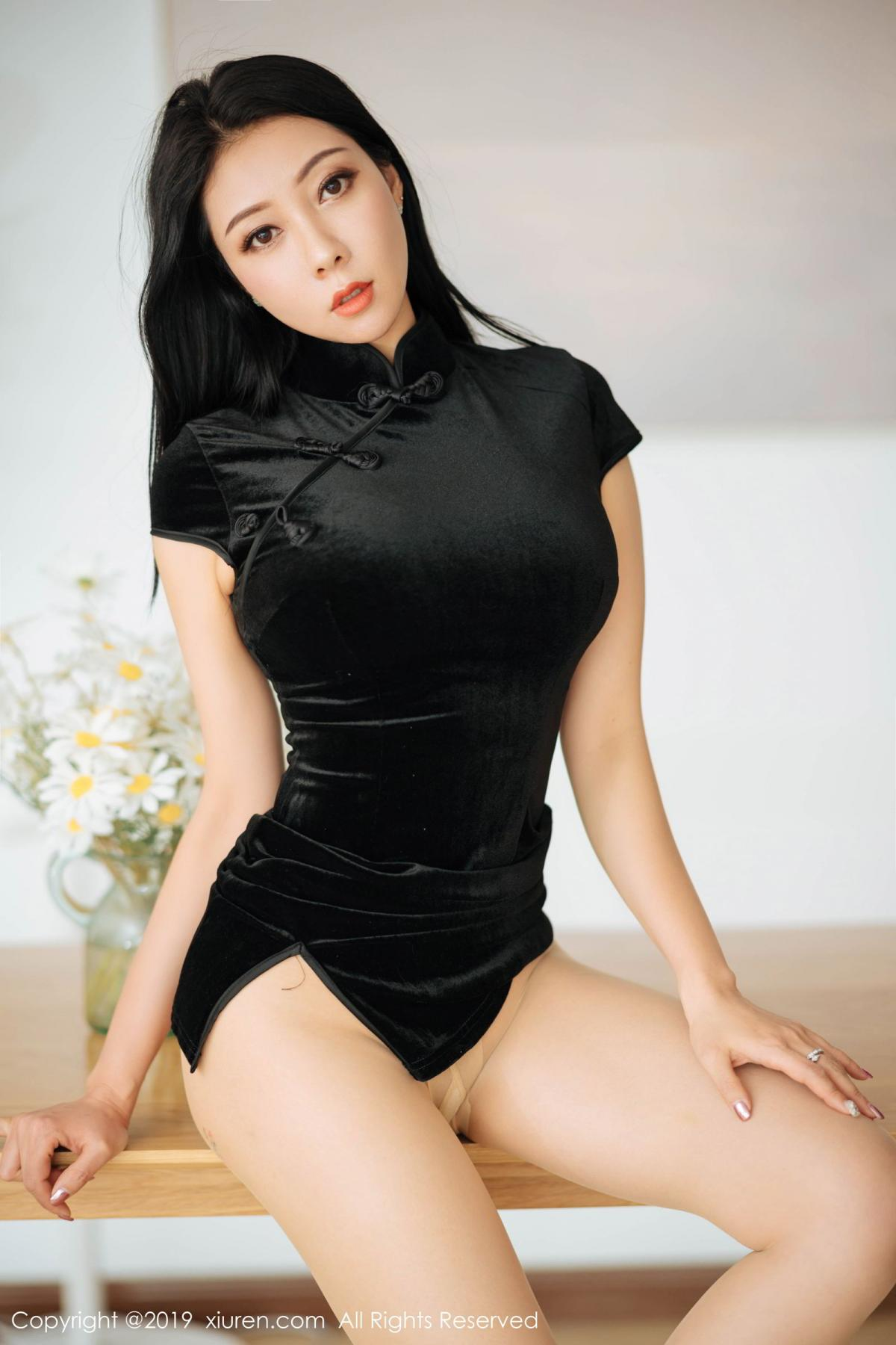 [XiuRen] Vol.1813 Song Guo Er 24P, Cheongsam, Song Guo Er, Xiuren