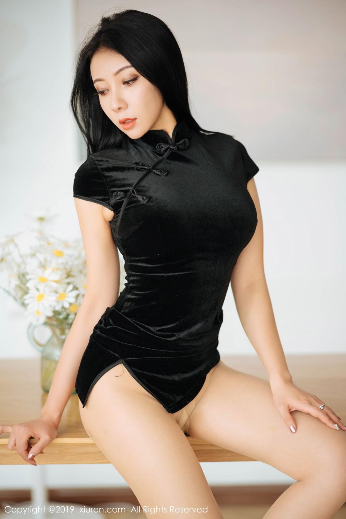 [XiuRen] Vol.1813 Song Guo Er 25P, Cheongsam, Song Guo Er, Xiuren