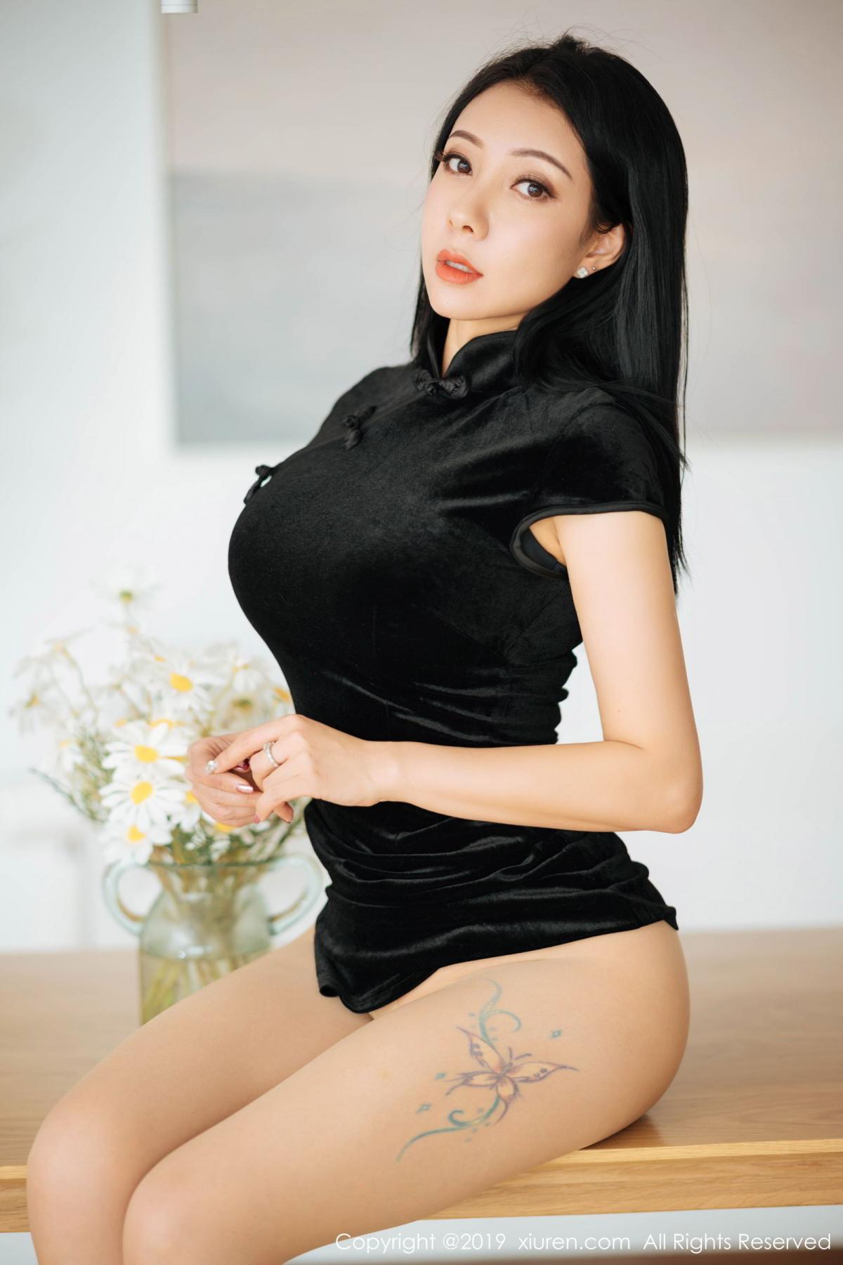 [XiuRen] Vol.1813 Song Guo Er 27P, Cheongsam, Song Guo Er, Xiuren
