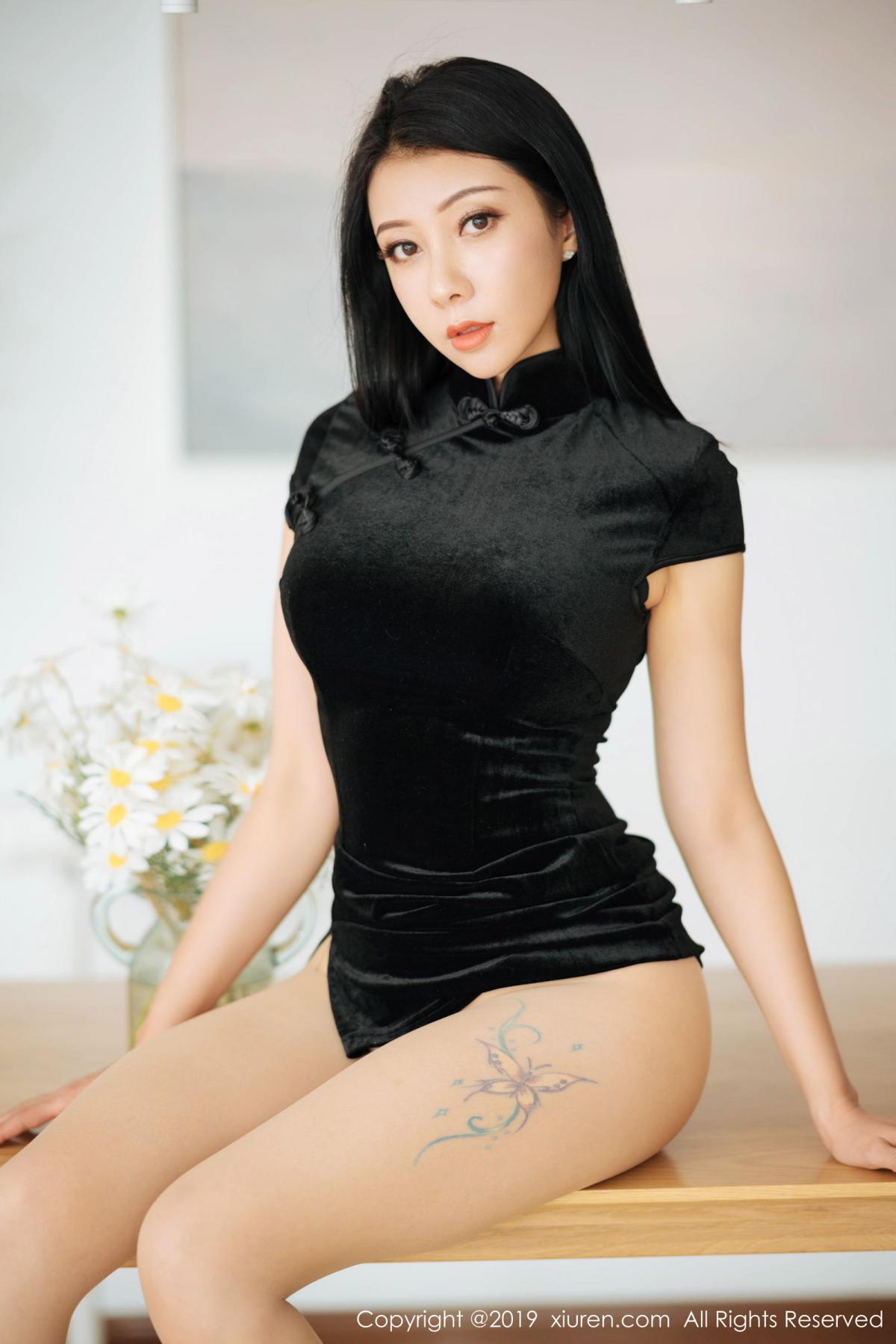 [XiuRen] Vol.1813 Song Guo Er 28P, Cheongsam, Song Guo Er, Xiuren