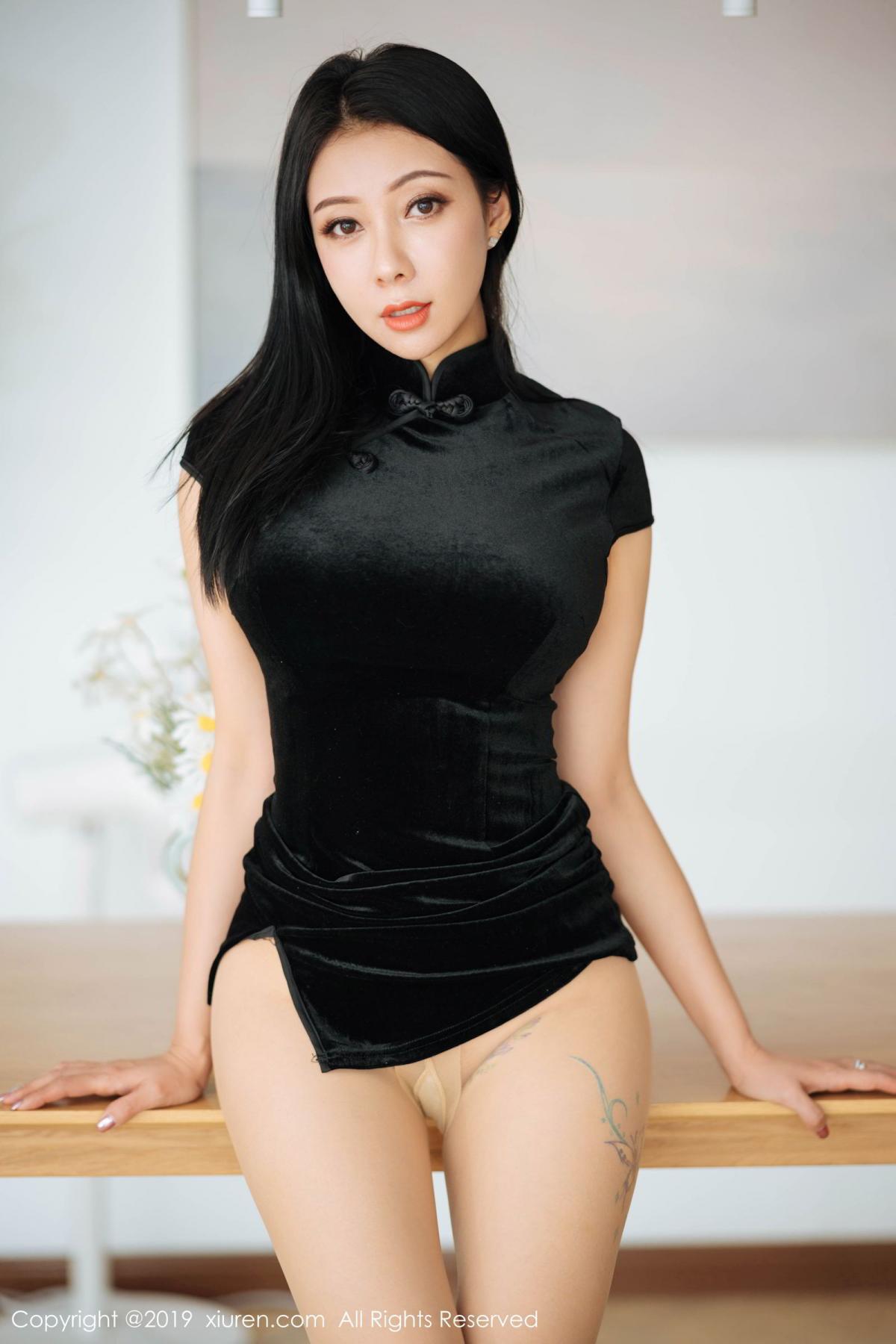 [XiuRen] Vol.1813 Song Guo Er 38P, Cheongsam, Song Guo Er, Xiuren