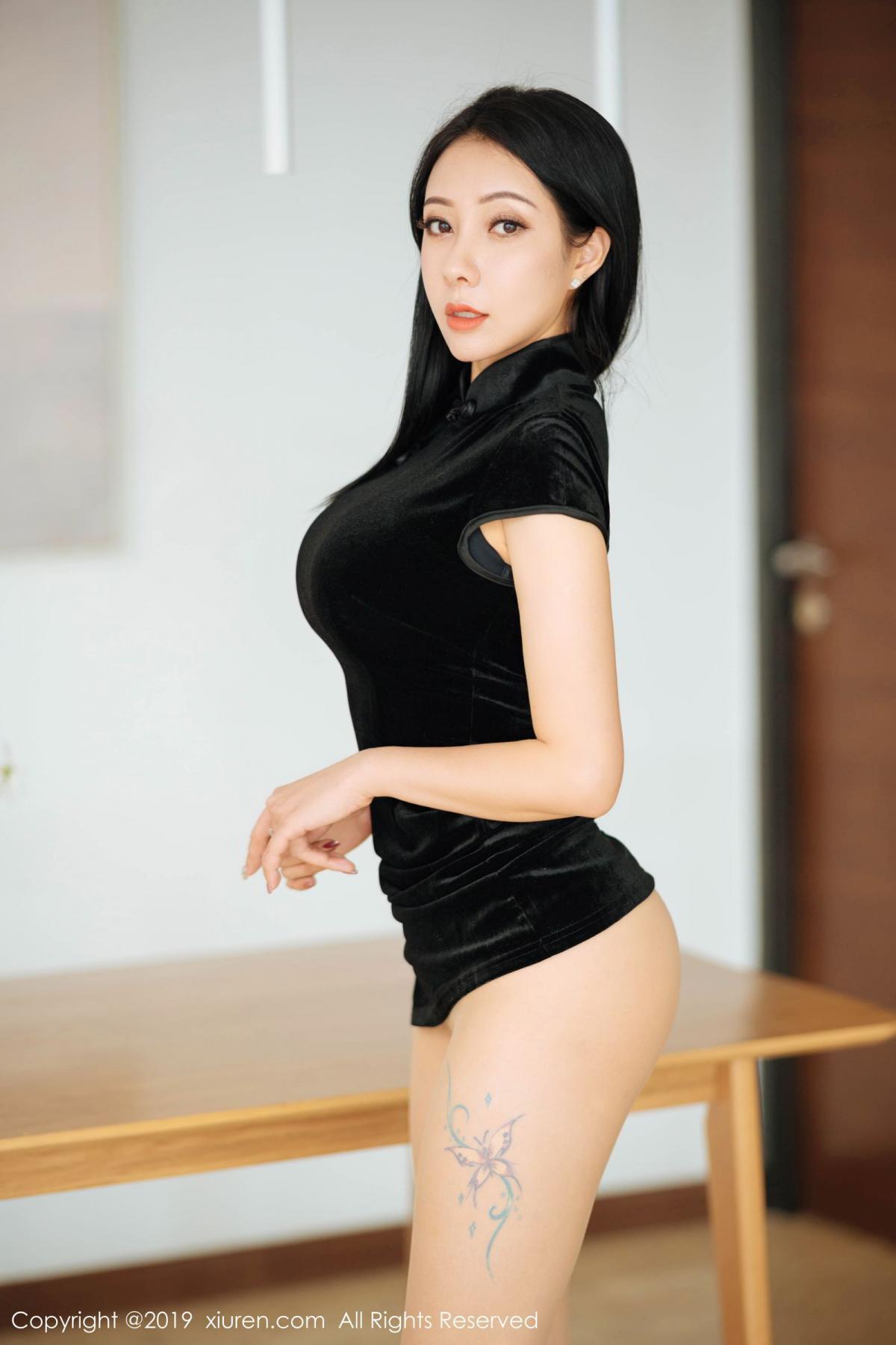 [XiuRen] Vol.1813 Song Guo Er 40P, Cheongsam, Song Guo Er, Xiuren