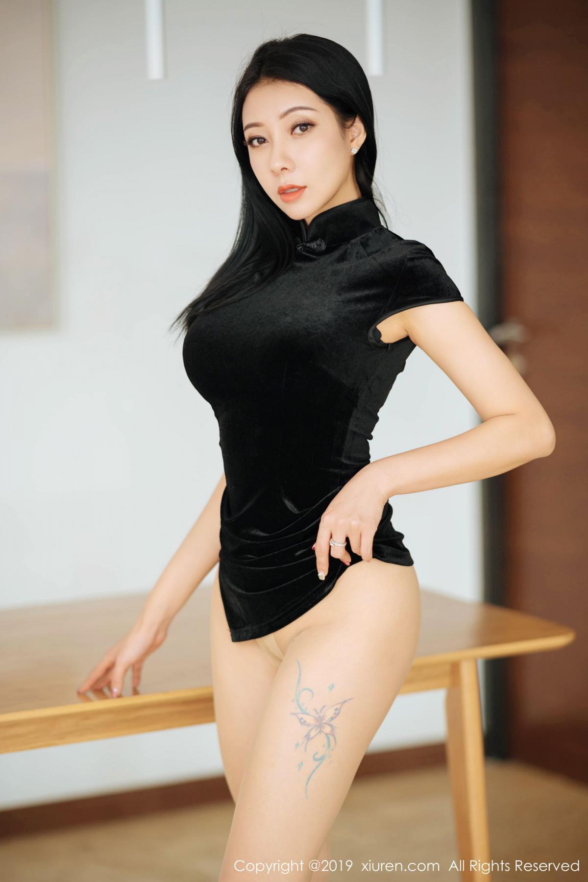 [XiuRen] Vol.1813 Song Guo Er 42P, Cheongsam, Song Guo Er, Xiuren
